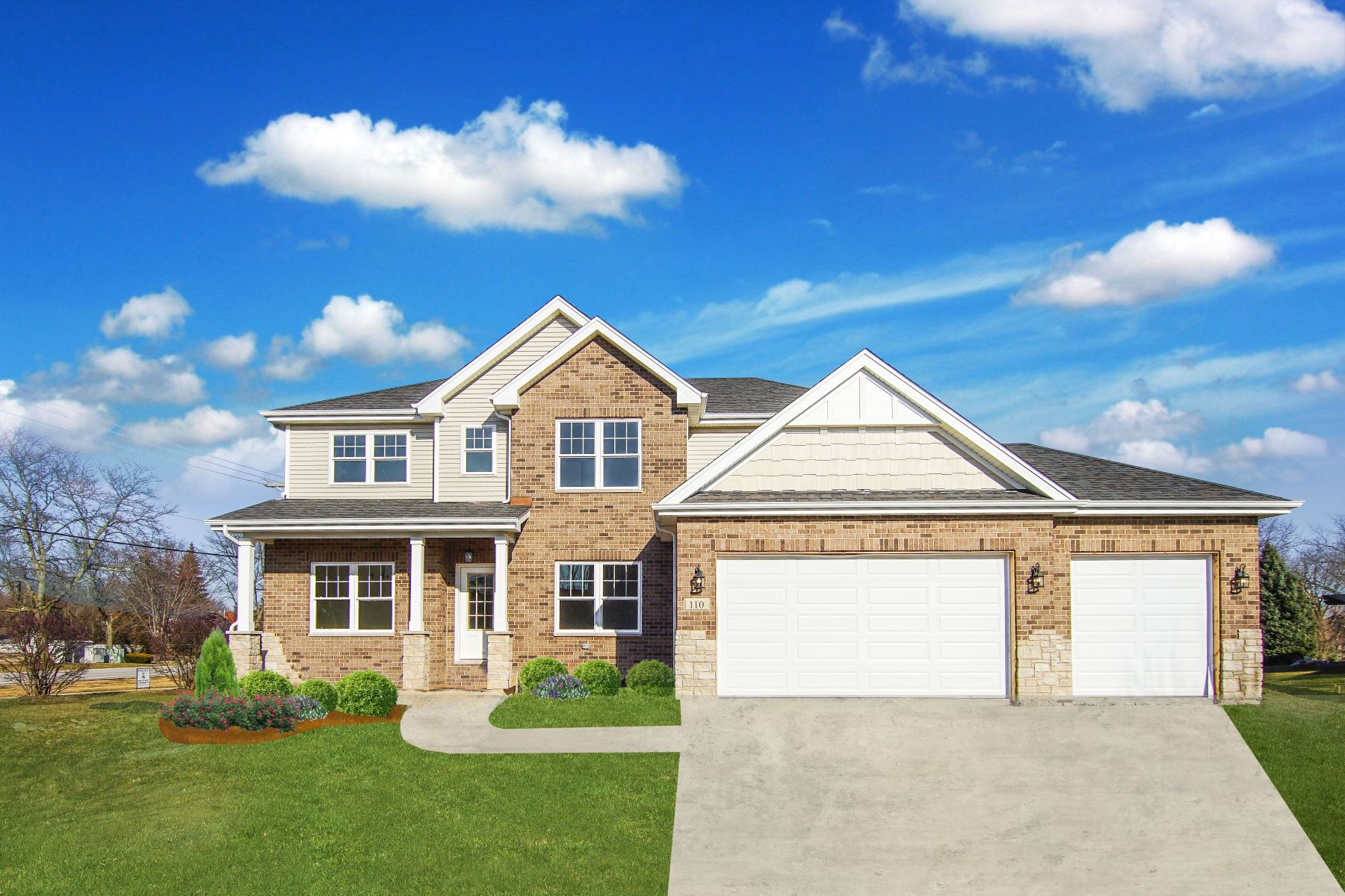 Single Family Homes for Active at Move in Ready at Wildflower Estates 110 Sonoma Road New Lenox, Illinois 60451 United States