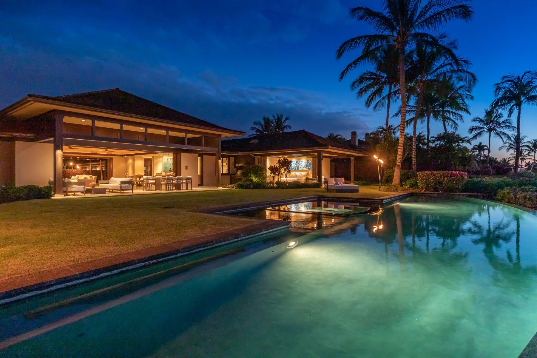 Single Family Homes para Venda às Hualalai Resort: The perfect location over looking 10th hole of Ke'olu Course 72-395 Kaupulehu Drive, Kailua-Kona, Havaí 96740 Estados Unidos