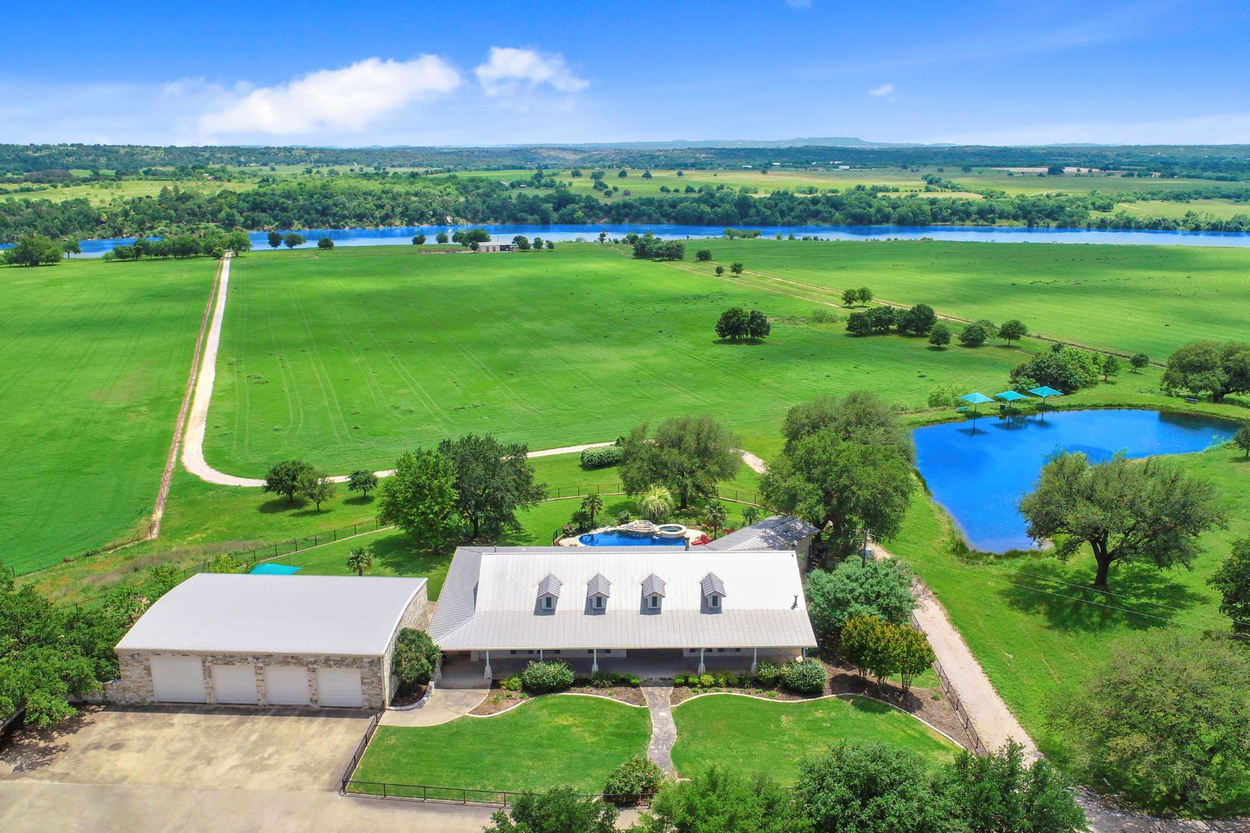 Farm / Ranch / Plantation for Active at Remarkable Lake Travis Gentleman's Ranch 575 Cimarron Ranch Road on Lake Travis Marble Falls, Texas 78654 United States