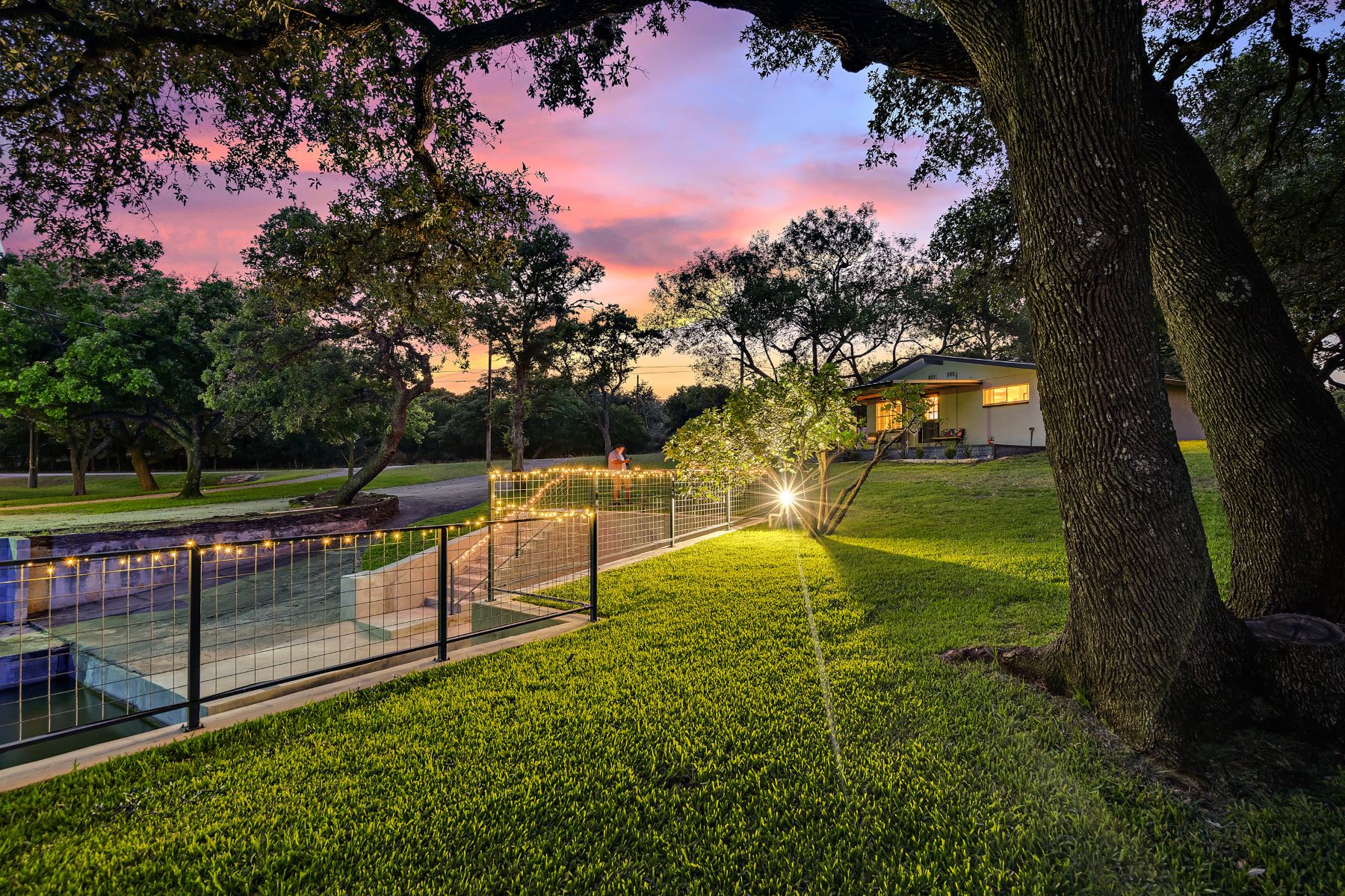 Single Family Homes for Sale at Charming Home Yards from Lake LBJ 158 Winding Way Llano, Texas 78643 United States