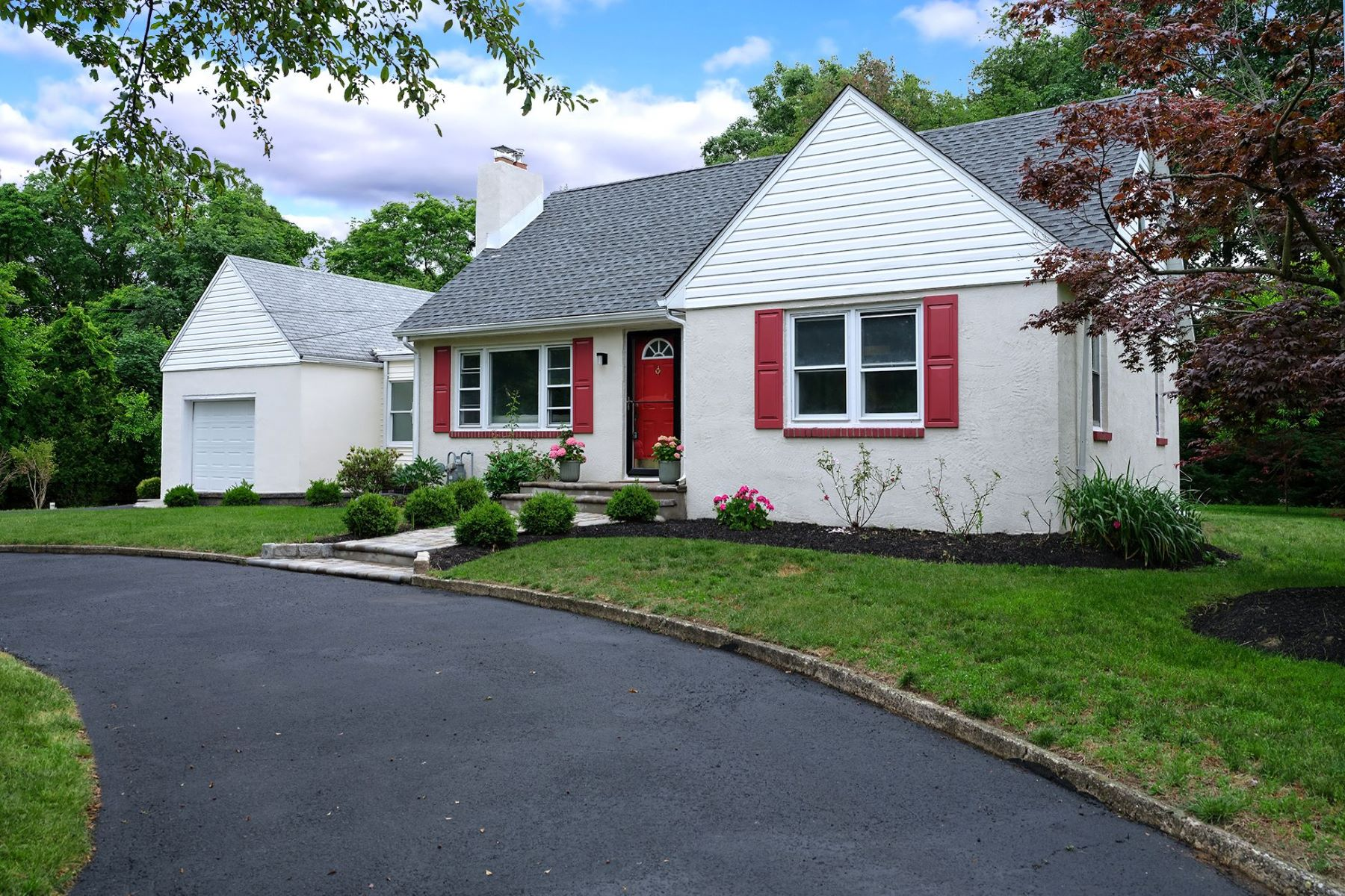 Single Family Homes for Sale at Beautifully Redone Cape, 5 Minutes from Train 119 Rabbit Hill Road, West Windsor, New Jersey 08550 United States