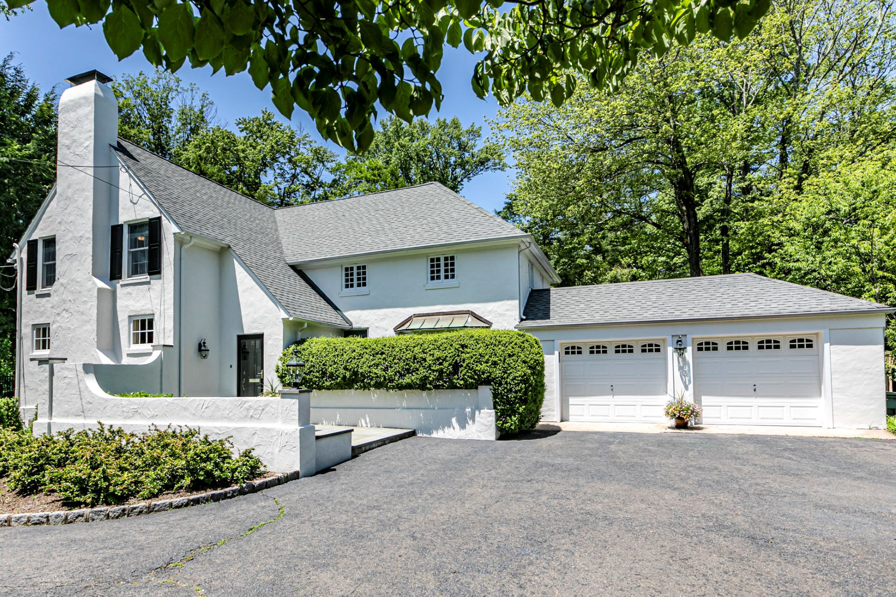 Single Family Homes for Sale at The Perfect Period Home Exactly One Mile From Town 9 Ober Road, Princeton, New Jersey 08540 United States