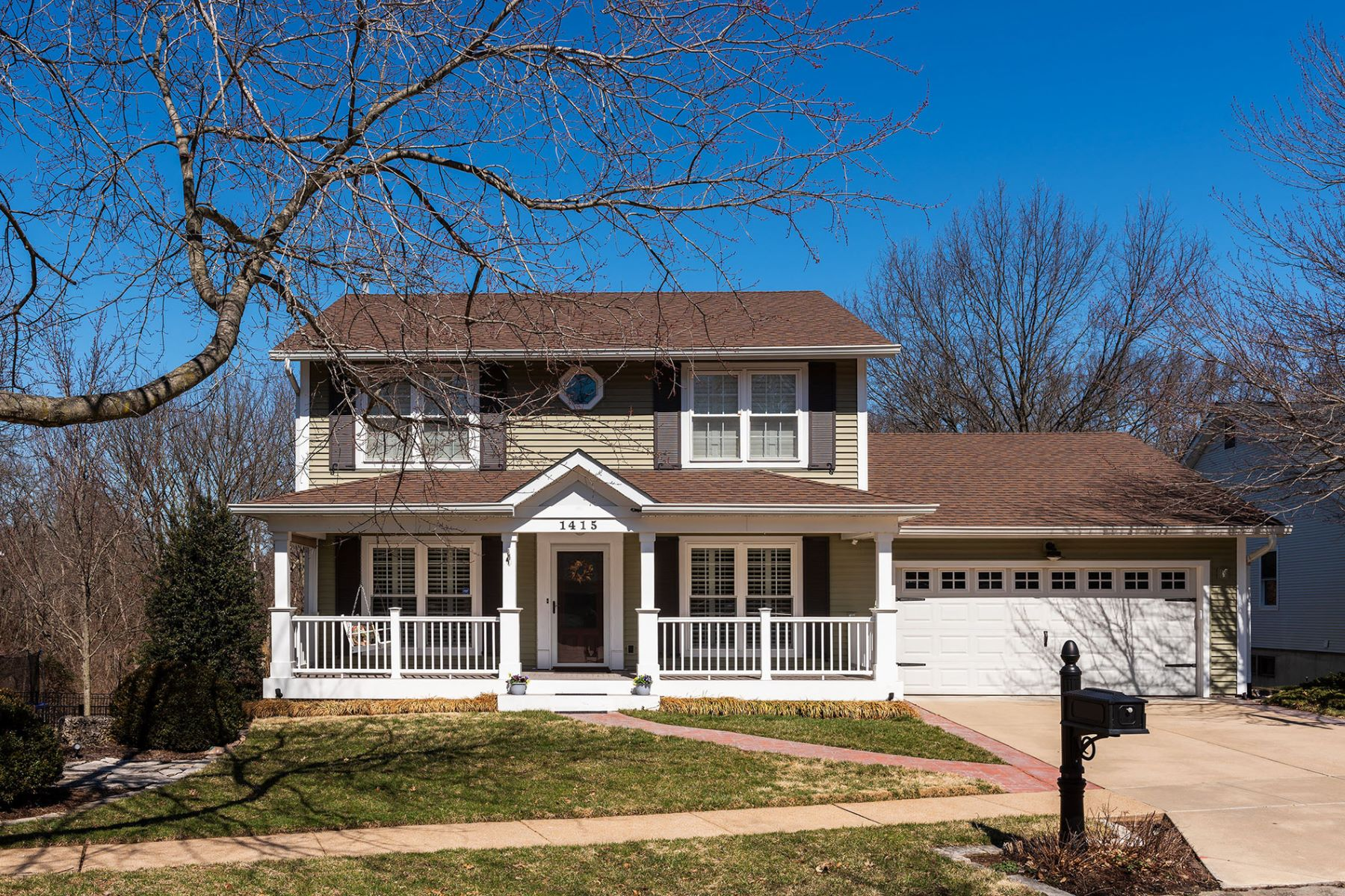 Single Family Home for Sale at 1415 Briarcreek Drive, Kirkwood, MO 63122 1415 Briarcreek Drive Kirkwood, Missouri 63122 United States