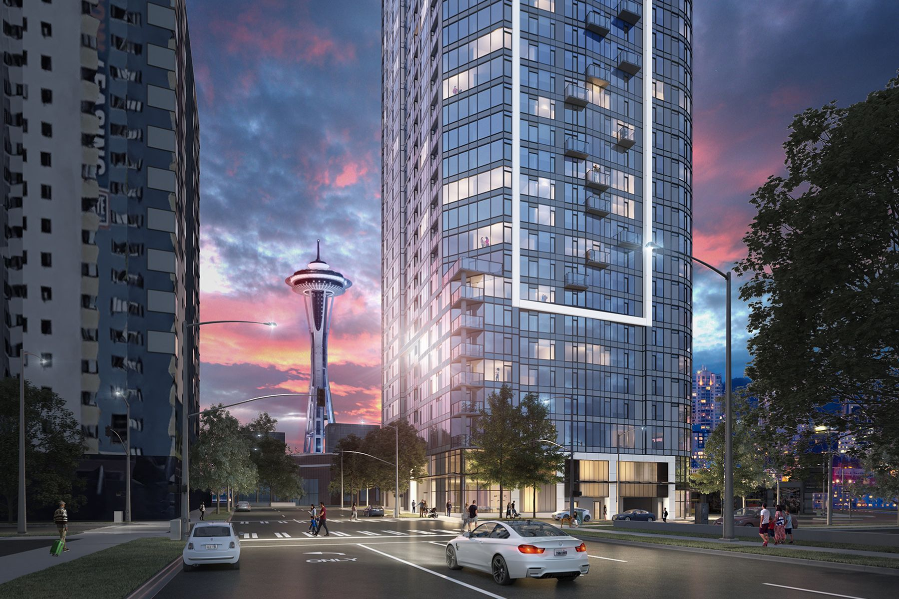Condominiums for Sale at 600 Wall Street, Seattle, WA 98109 600 Wall Street #3608 Seattle, Washington 98109 United States