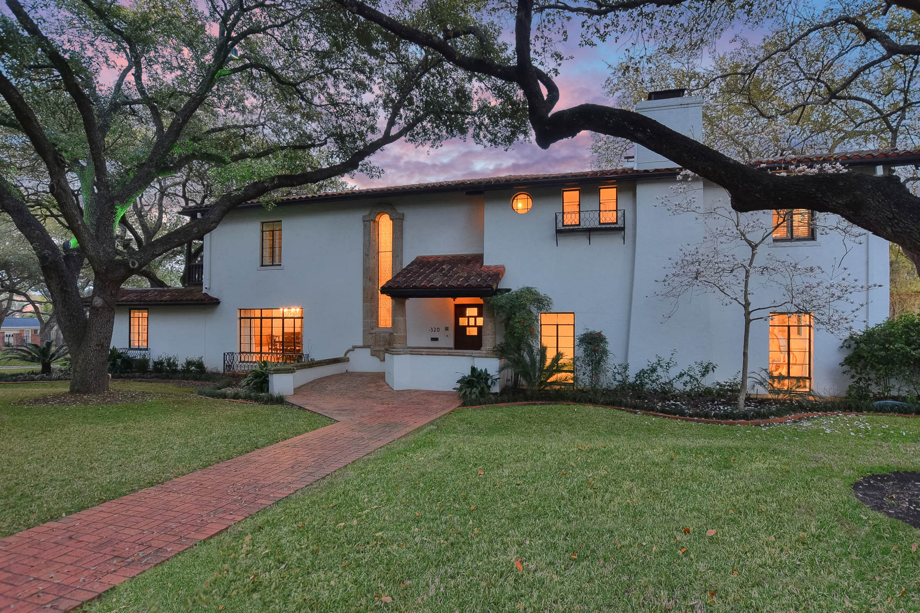 Single Family Home for Sale at Prestigious Spanish Colonial Nestled in Olmos Park 320 East Mandalay Drive San Antonio, Texas 78212 United States