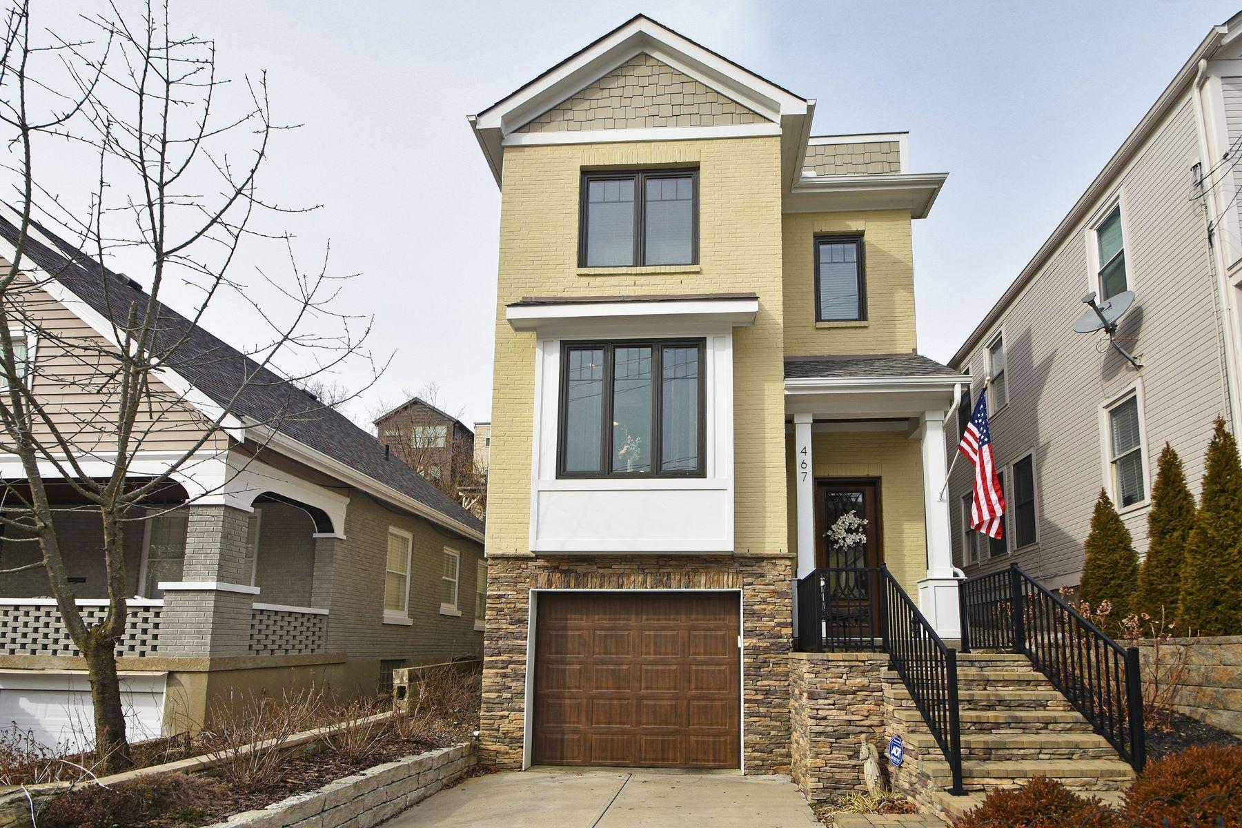 Single Family Homes por un Venta en 467 Stanley Avenue, Cincinnati, OH 45226 467 Stanley Avenue Cincinnati, Ohio 45226 Estados Unidos