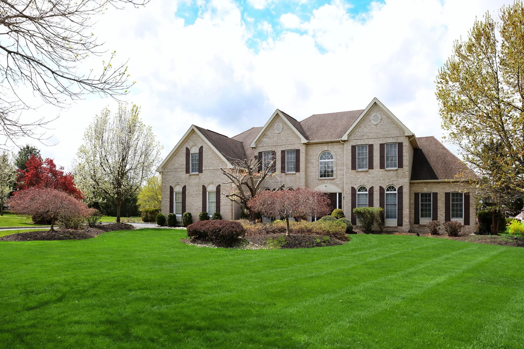 Property for Sale at Superb, Sundrenched Home With Many Updates 34 Vanderveer Drive, Belle Mead, New Jersey 08502 United States
