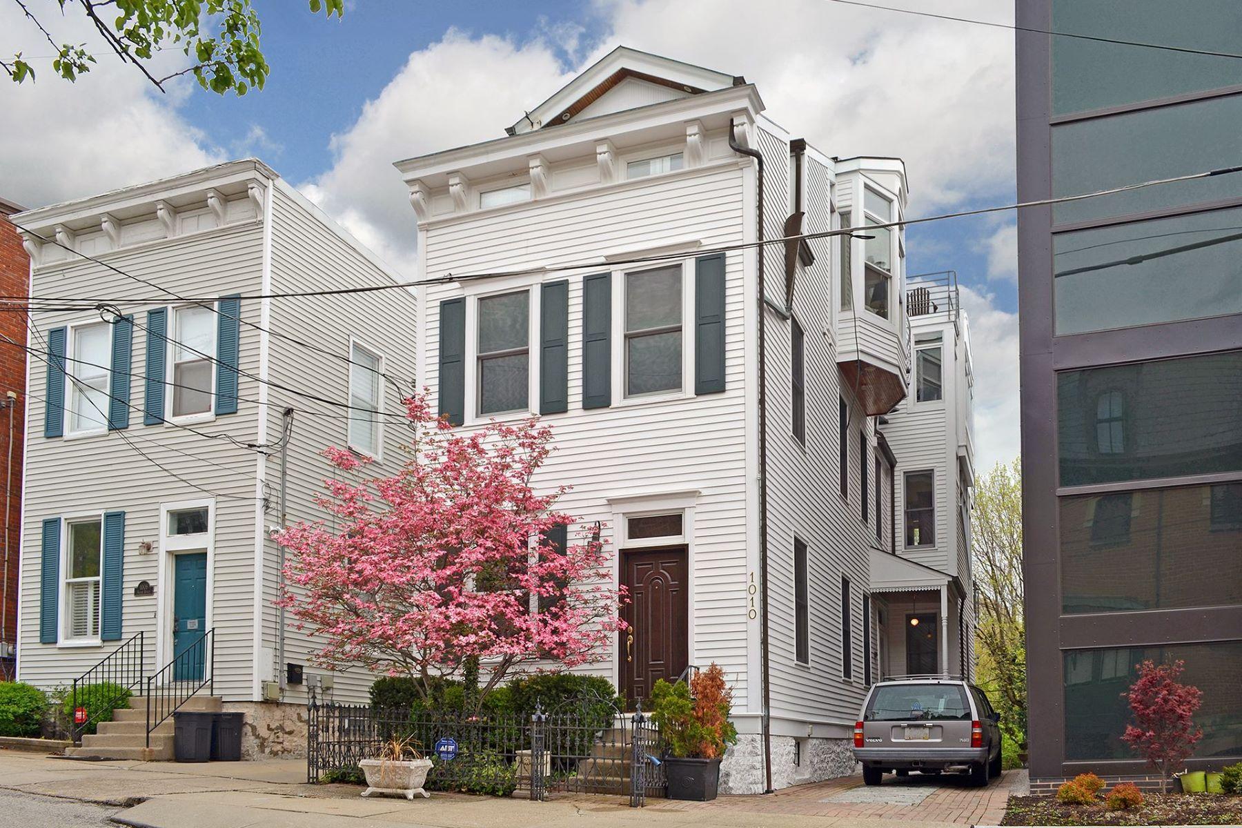 Single Family Homes por un Venta en 1010 Hatch Street, Cincinnati, OH 45202 1010 Hatch Street Cincinnati, Ohio 45202 Estados Unidos