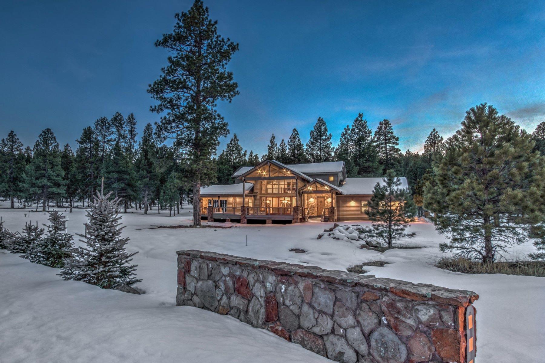 Single Family Homes 용 매매 에 Brand New Family Retreat In The Pines 236 W Dawn Circle CIR, Munds Park, 아리조나 86017 미국