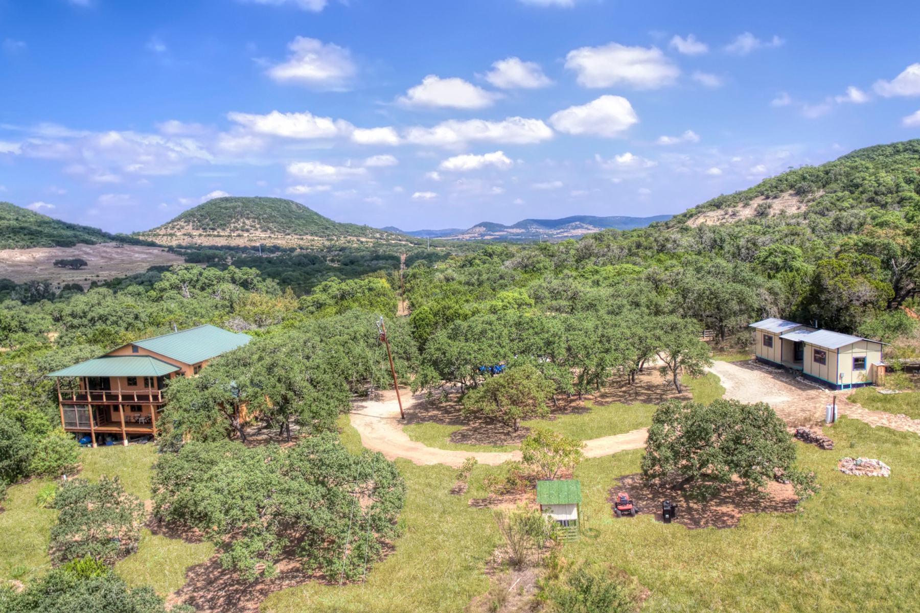 Single Family Home for Sale at Scenic 20 Acre Retreat 474 Lost Ln Tarpley, Texas 78883 United States