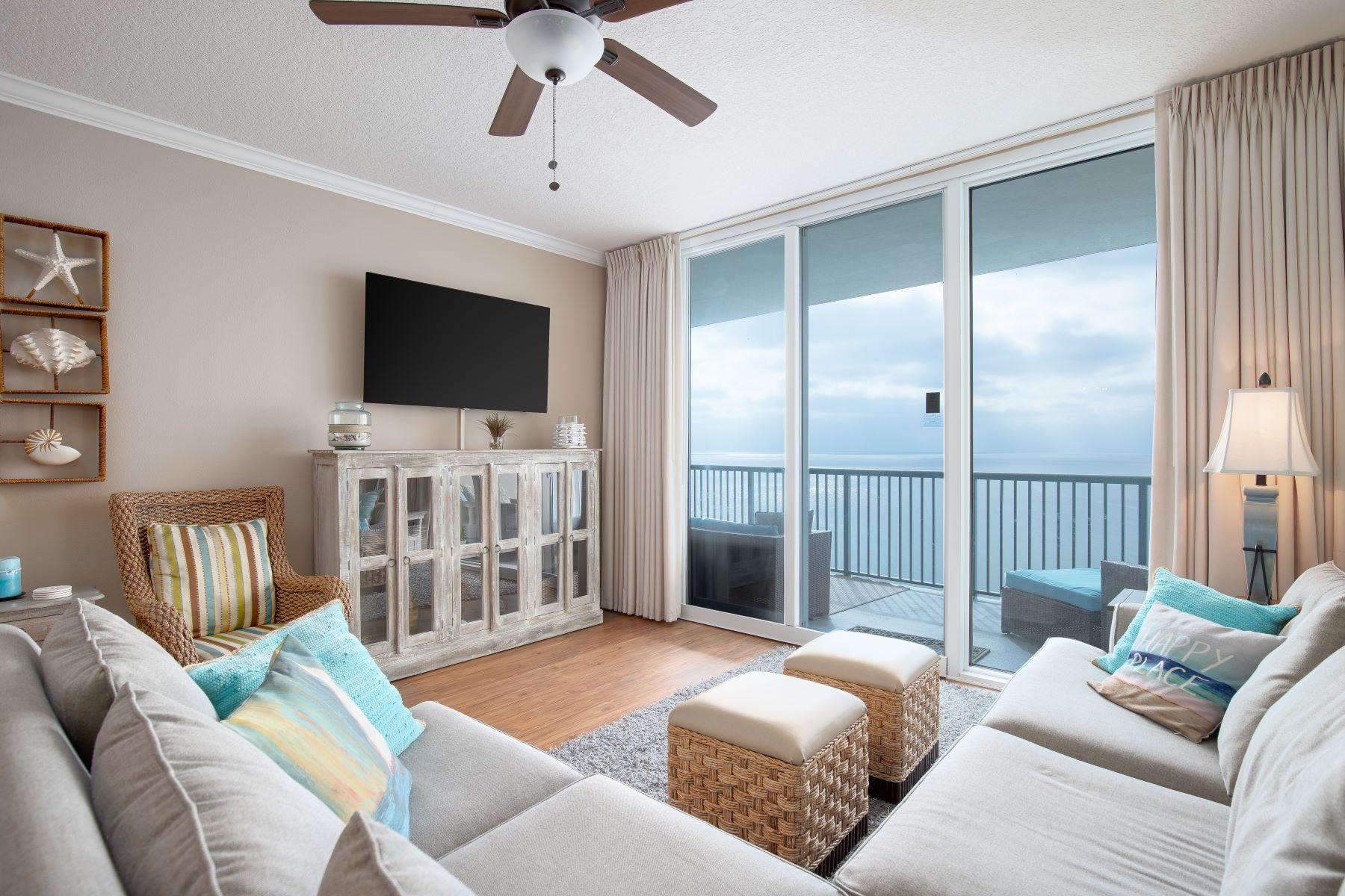 Condominiums for Sale at Gulf Front Oasis with Abundant Entertainment Space 17281 Front Beach Road, Unit 1007, Panama City Beach, Florida 32413 United States
