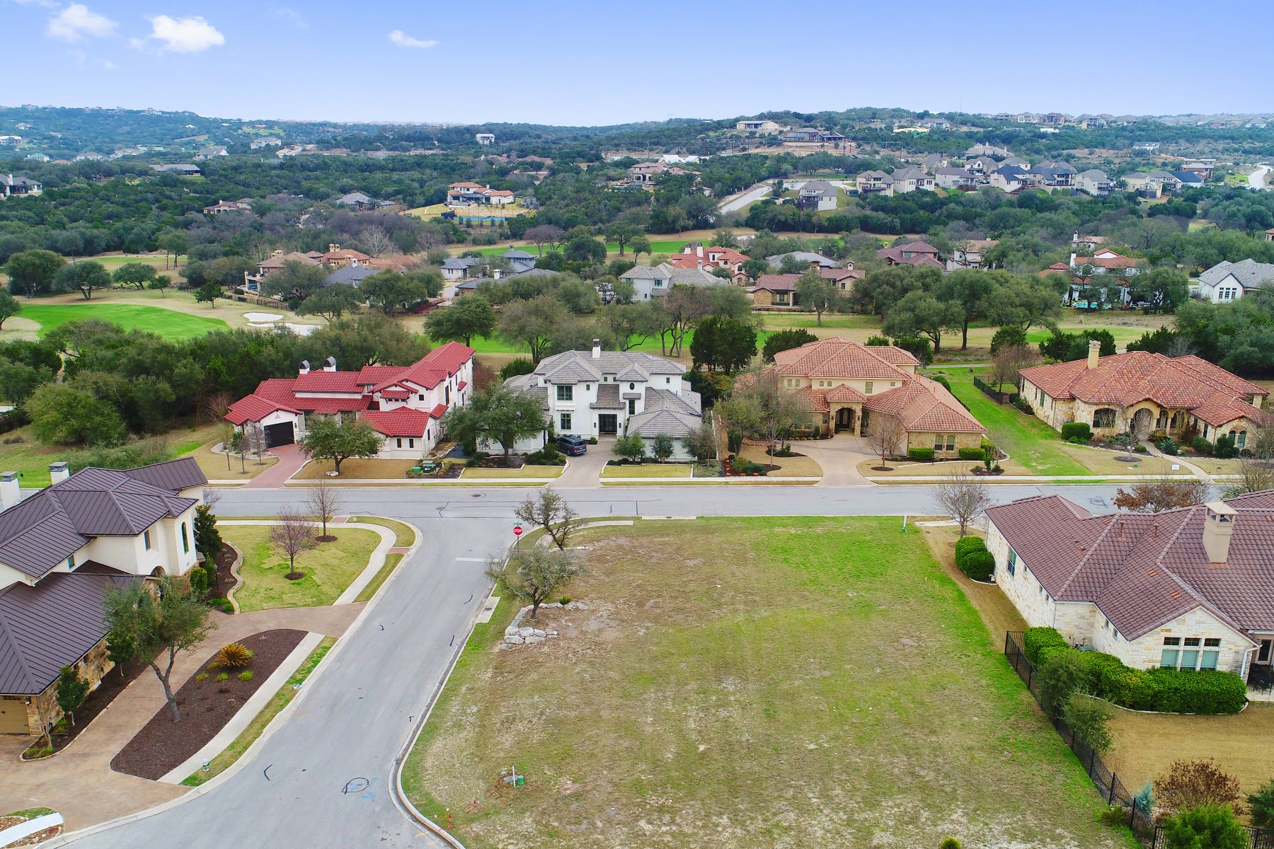Land for Sale at Lovely and Level Corner Lot 215 Black Wolf Run Austin, Texas 78738 United States