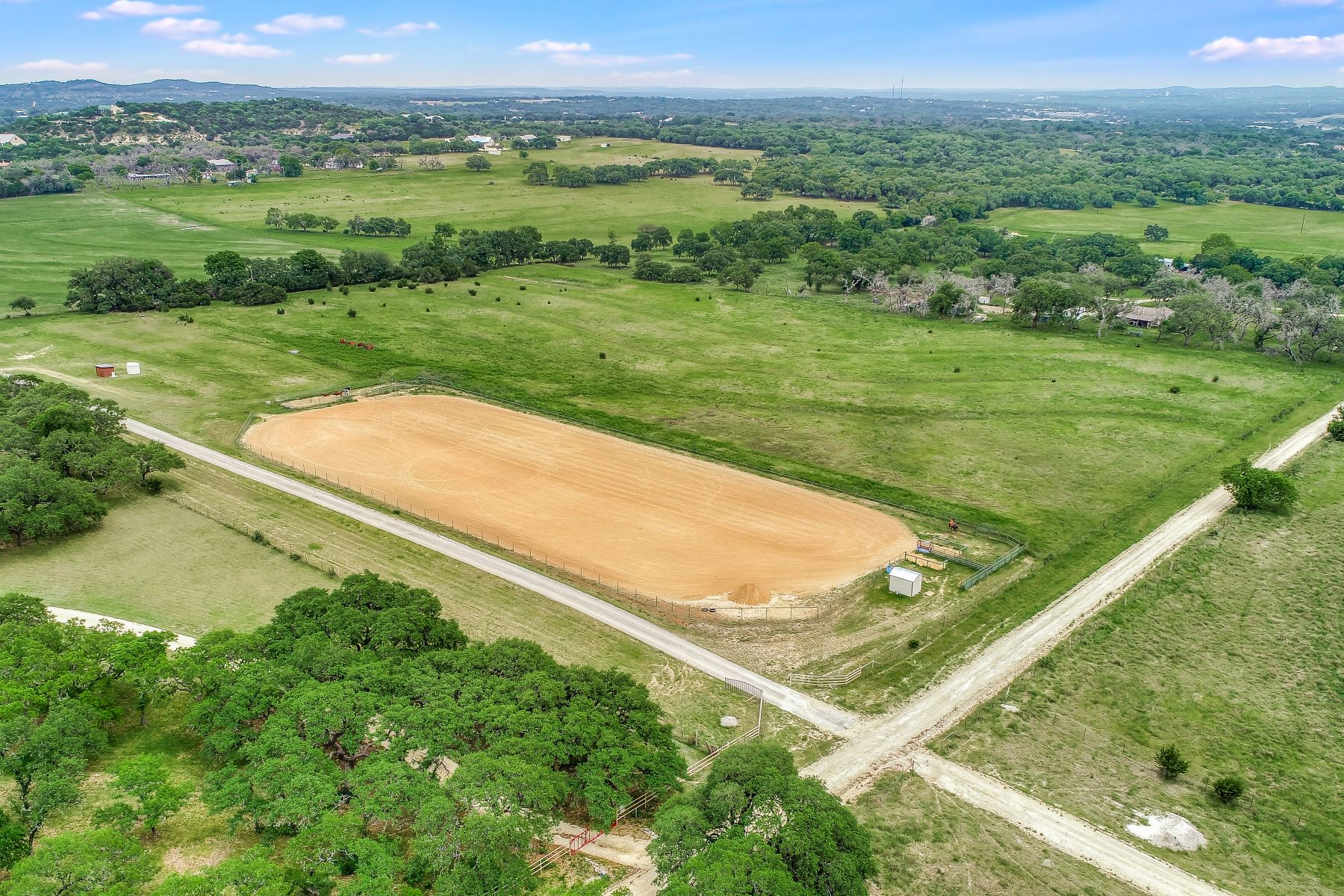 Farm / Ranch / Plantation for Sale at South Texas Style with Open Concept 113 Spanish Pass Road Boerne, Texas 78006 United States