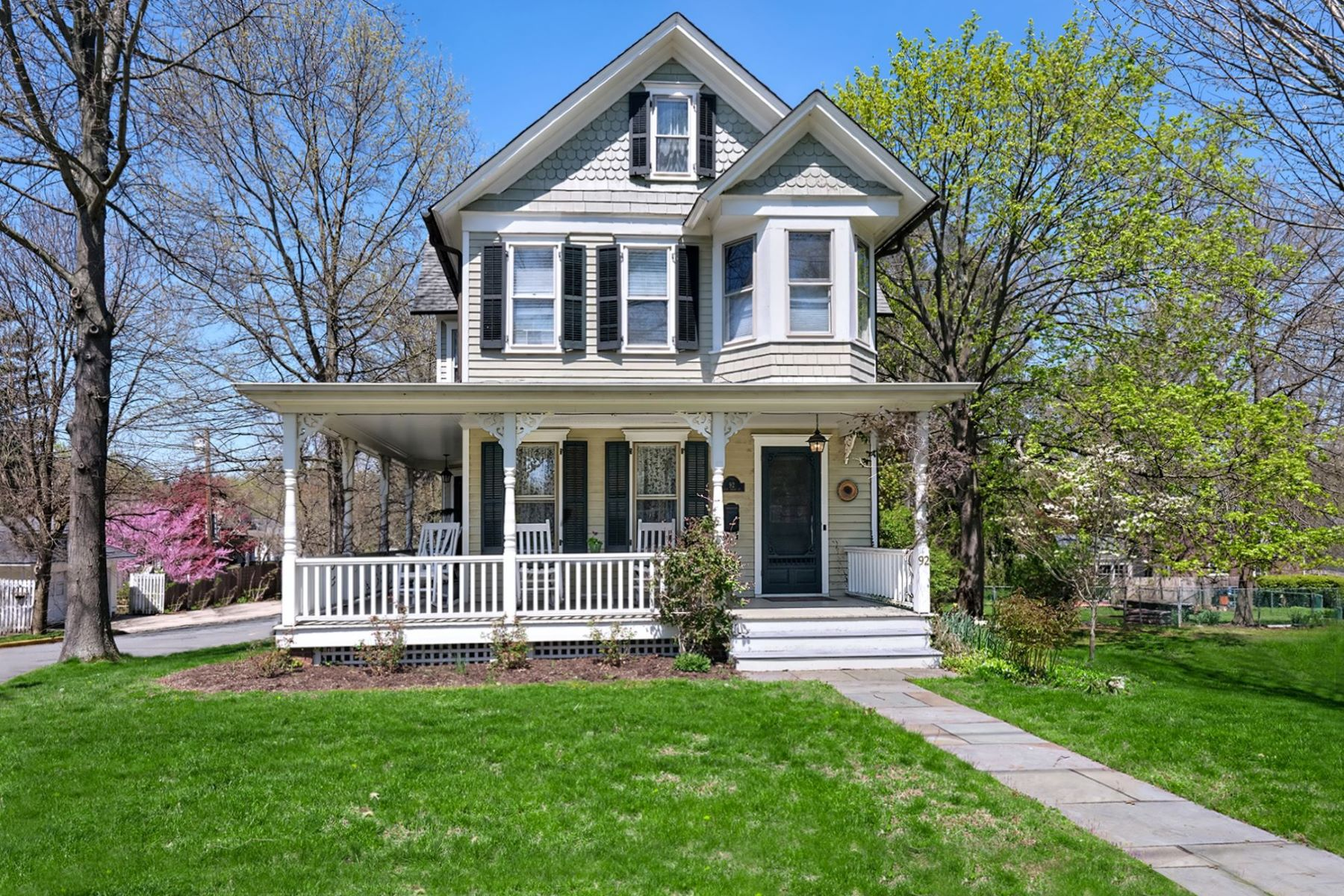 Single Family Homes for Sale at Charming Victorian 92 West Broad Street, Hopewell, New Jersey 08525 United States