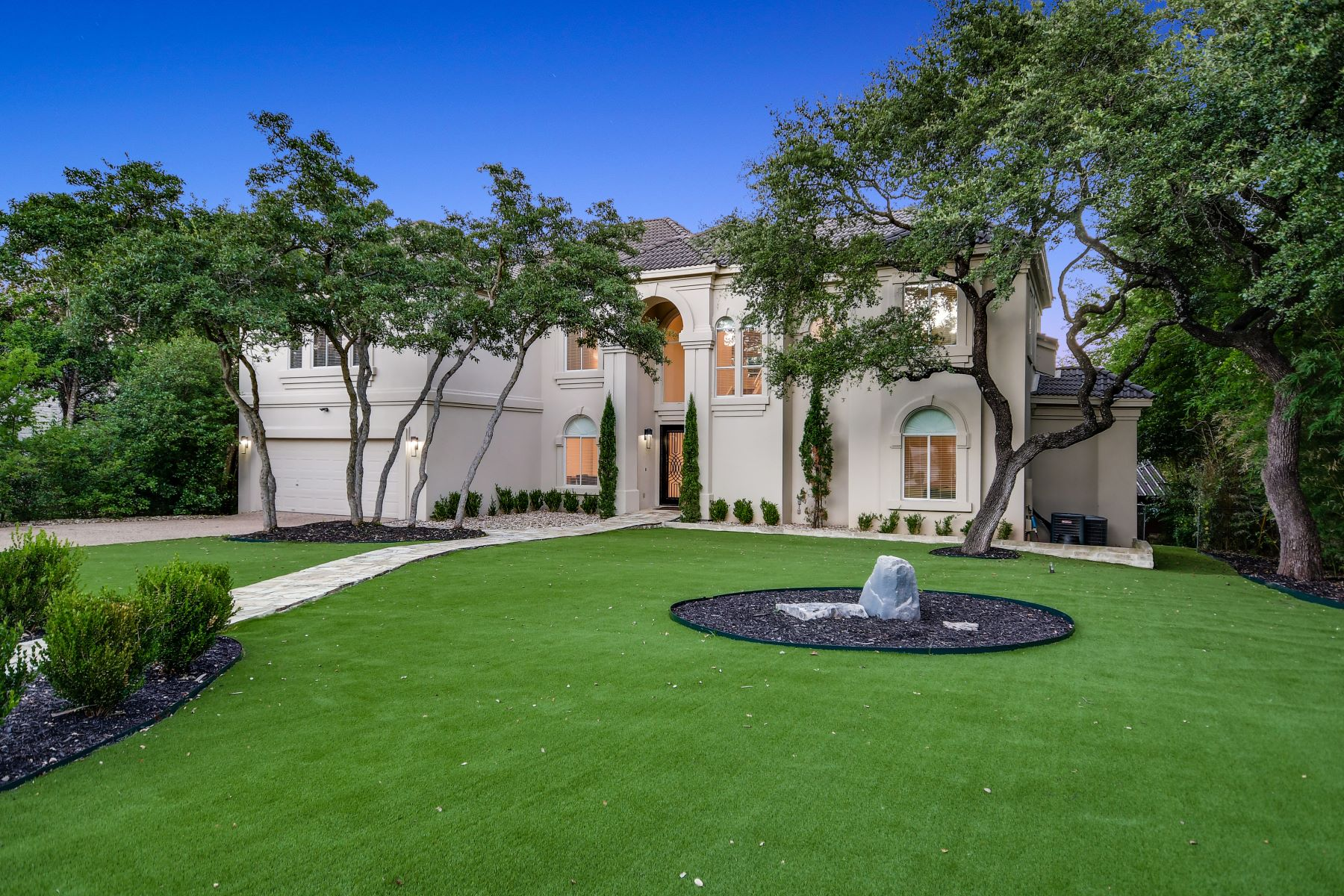 Single Family Homes for Sale at Sophisticated Lake Travis Estate 15747 Booth Circle Leander, Texas 78641 United States