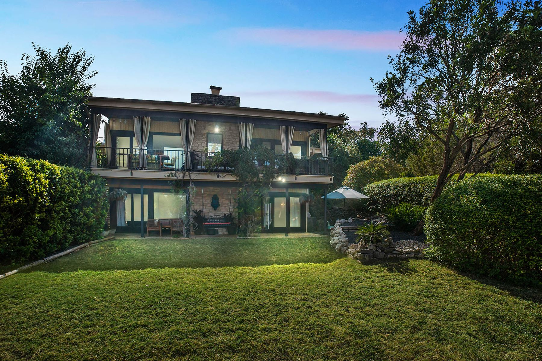 Single Family Home for Sale at Mid Century Modern on the Golf Course 402 Seawind, Austin, Texas, 78734 United States