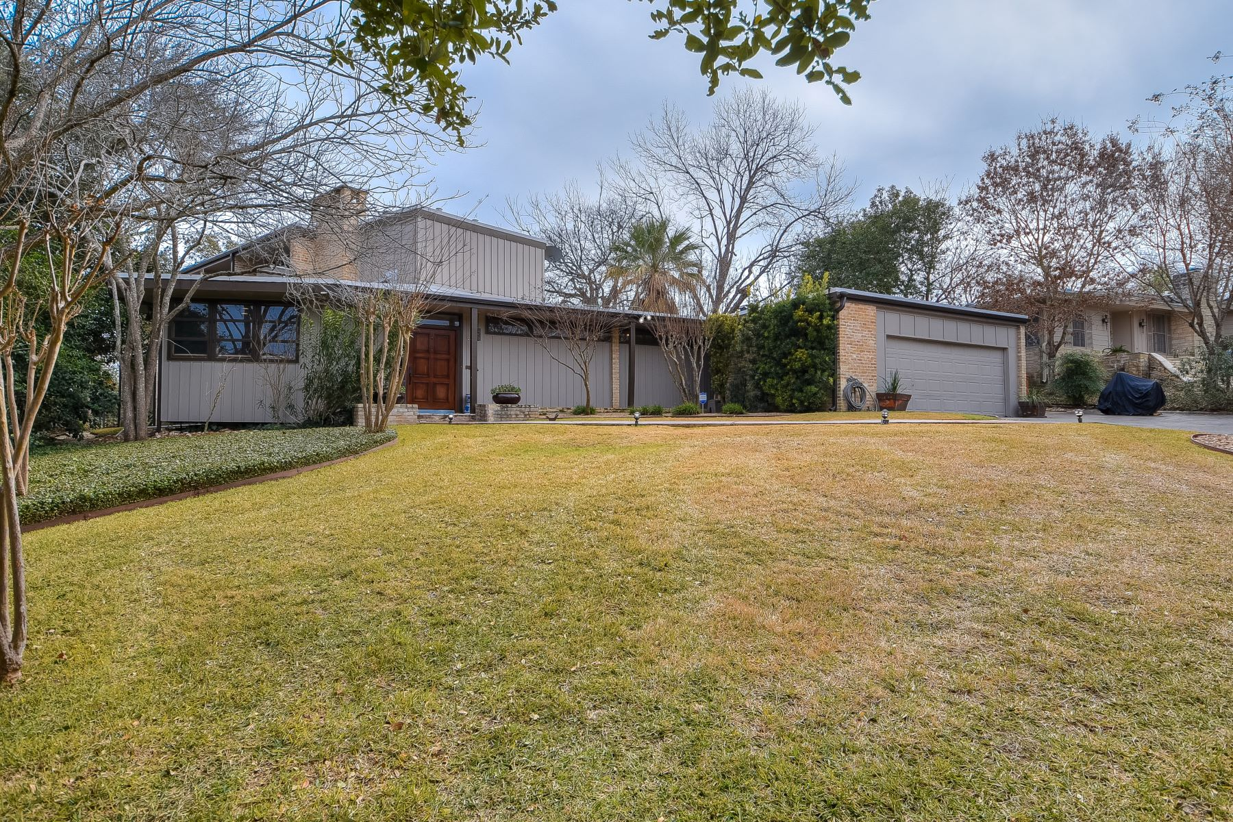 Single Family Home for Sale at Mid-Century Home in Bel Meade - 78209 126 East Brandon Drive San Antonio, Texas 78209 United States