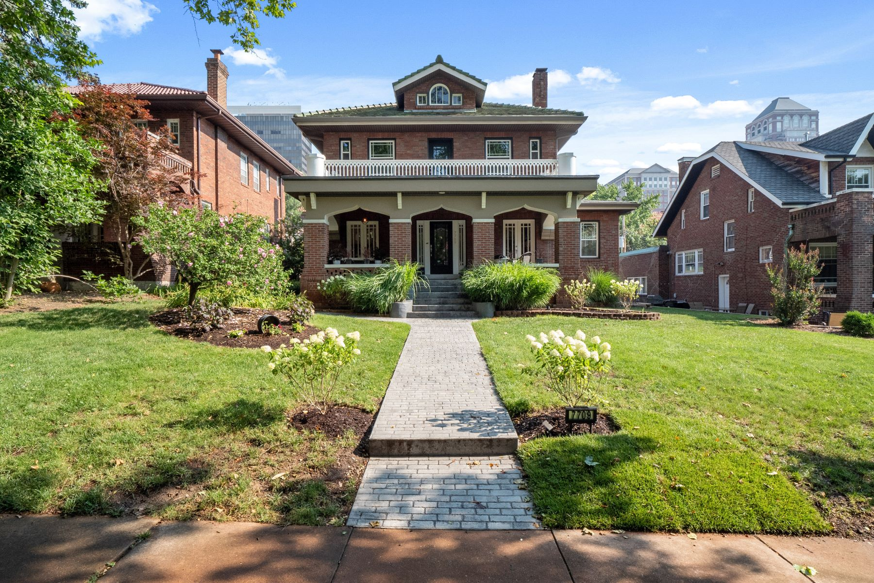 Single Family Homes for Sale at Located at the Heart of Clayton 7709 Country Club Court Clayton, Missouri 63105 United States