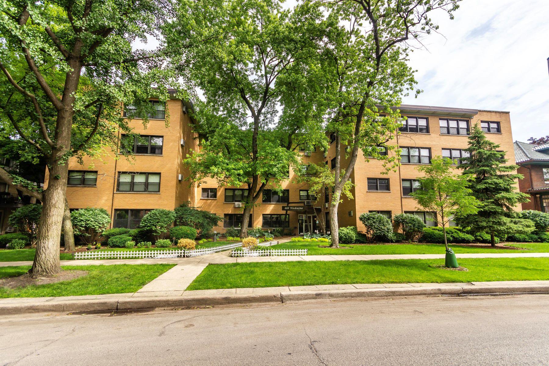 Condominiums for Active at Spacious Oak Park Condo 444 Washington Boulevard Unit 307 Oak Park, Illinois 60302 United States
