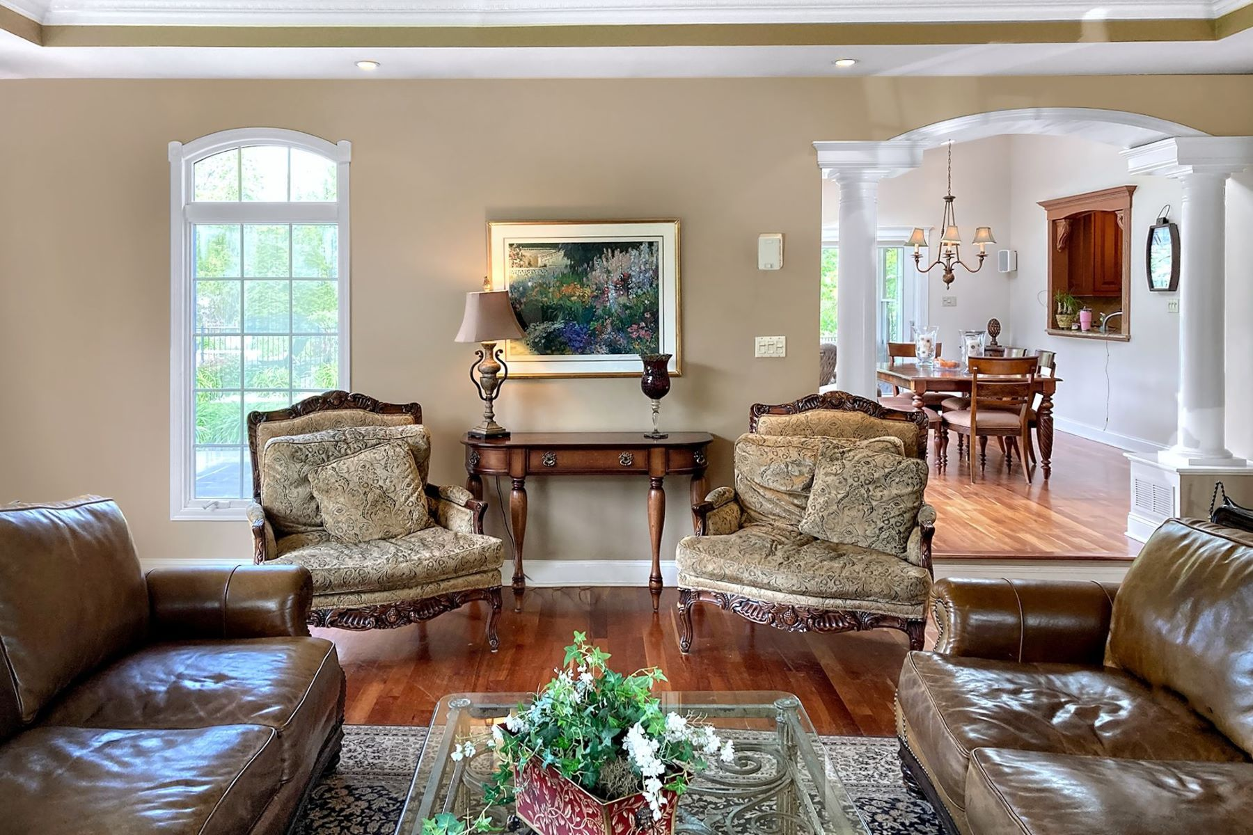 Additional photo for property listing at Luxury Colonial with Backyard Shangri-La 14 Penrose Lane, West Windsor, New Jersey 08550 United States