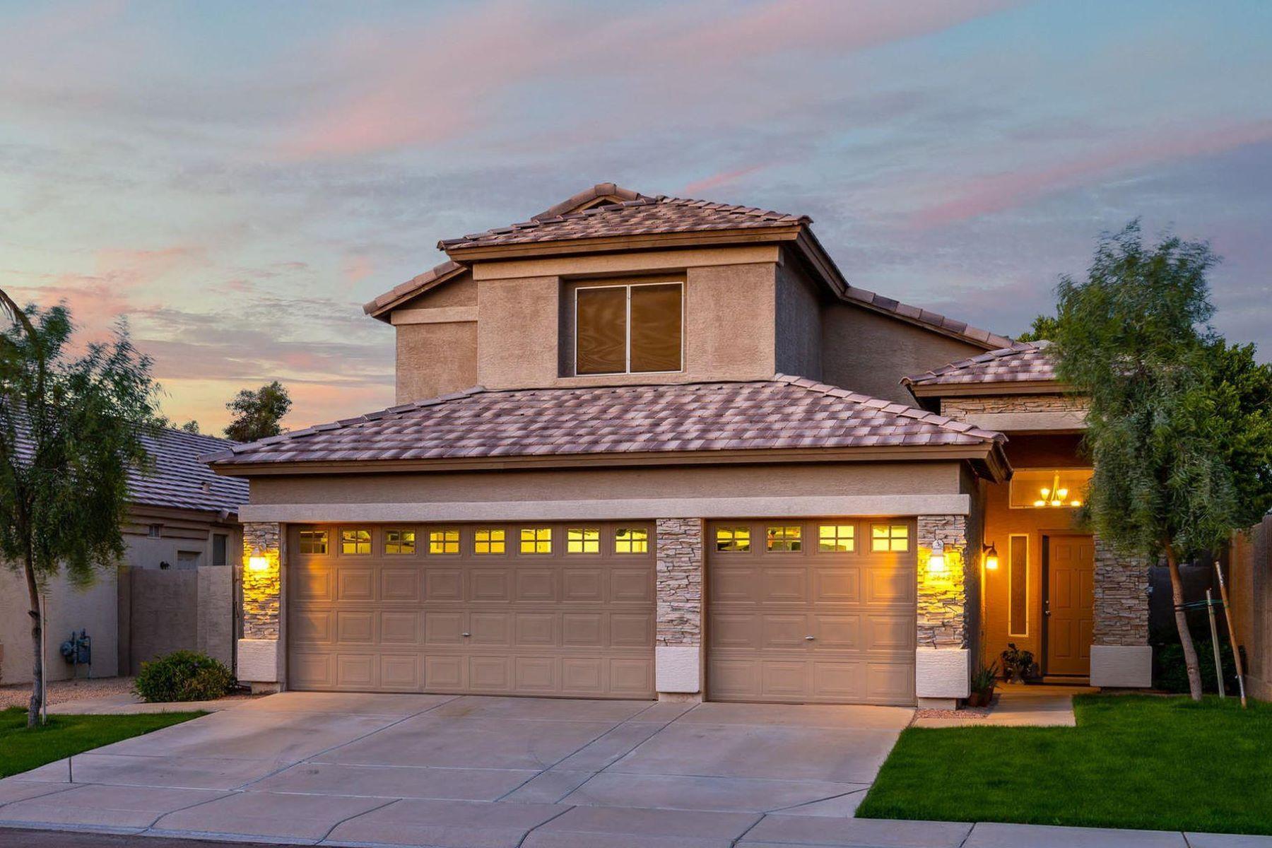 Single Family Homes 용 매매 에 Corona Del Mar 3643 S Sage CT, Chandler, 아리조나 85248 미국