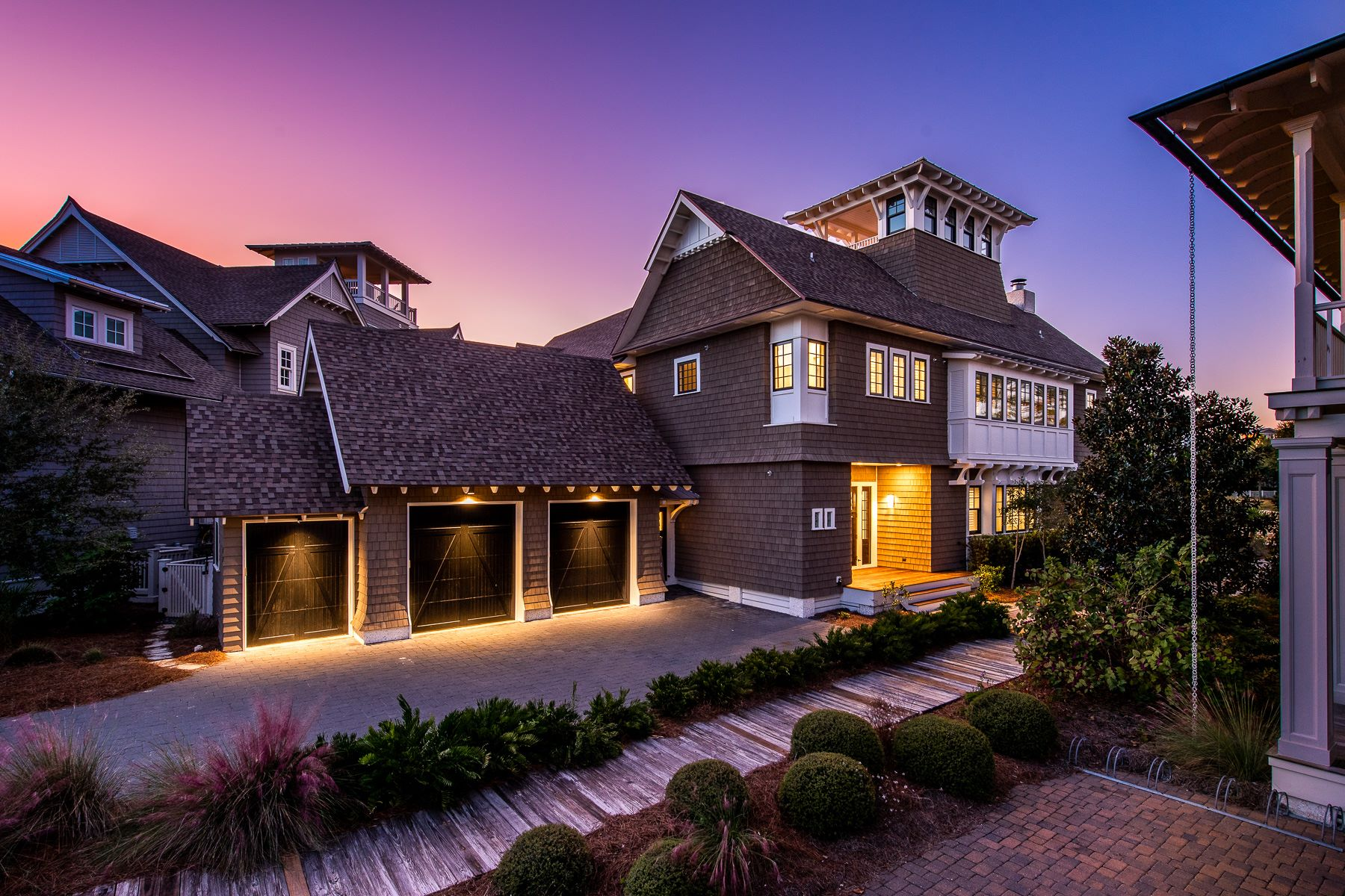 Single Family Homes for Sale at Crown Jewel in WaterSound with Private Pool and Enchanting Pond 47 Compass Point Way Santa Rosa Beach, Florida 32459 United States