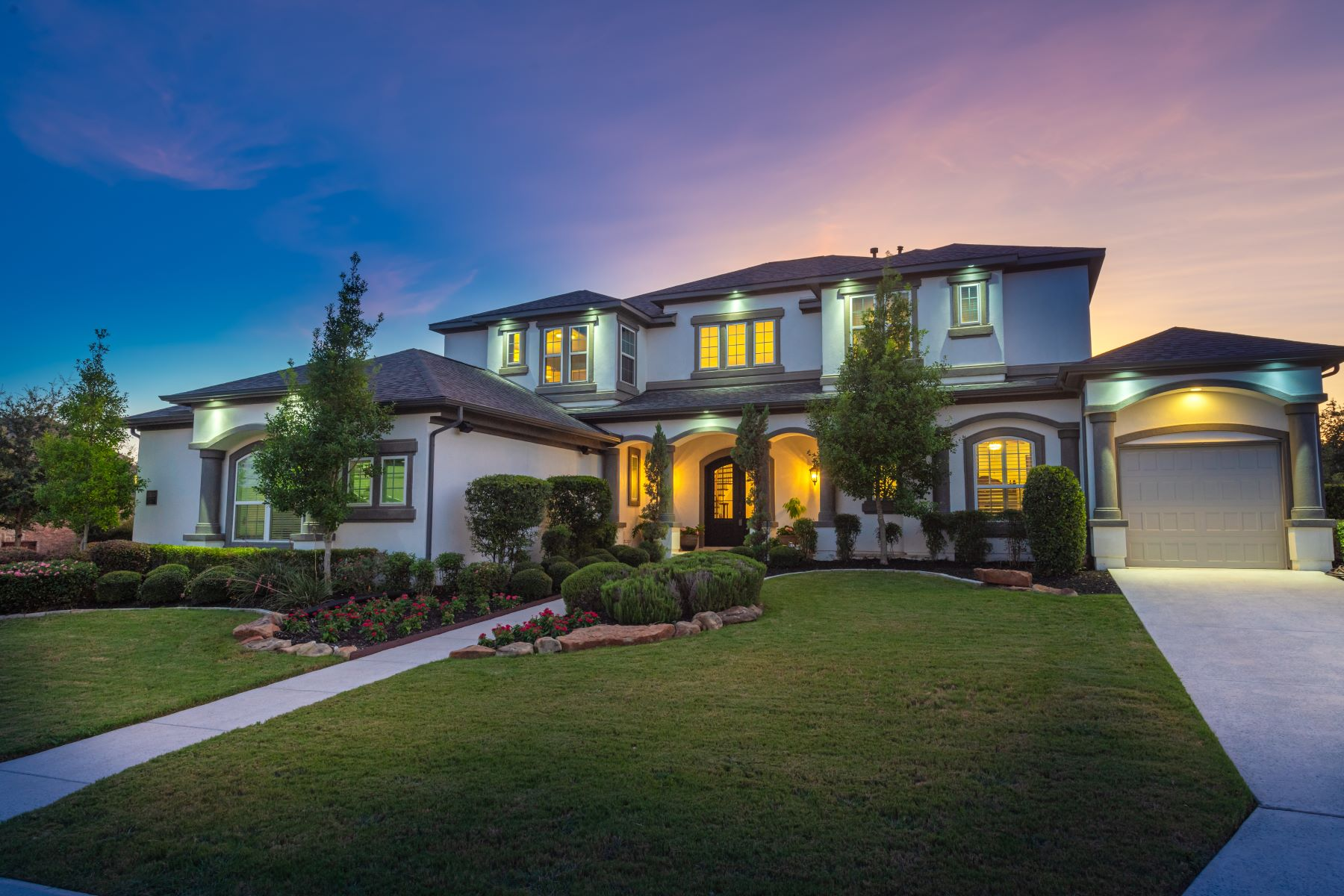 Single Family Homes 용 매매 에 Majestic Estate in Iron Horse Canyon 13111 Trotting Path, Helotes, 텍사스 78023 미국