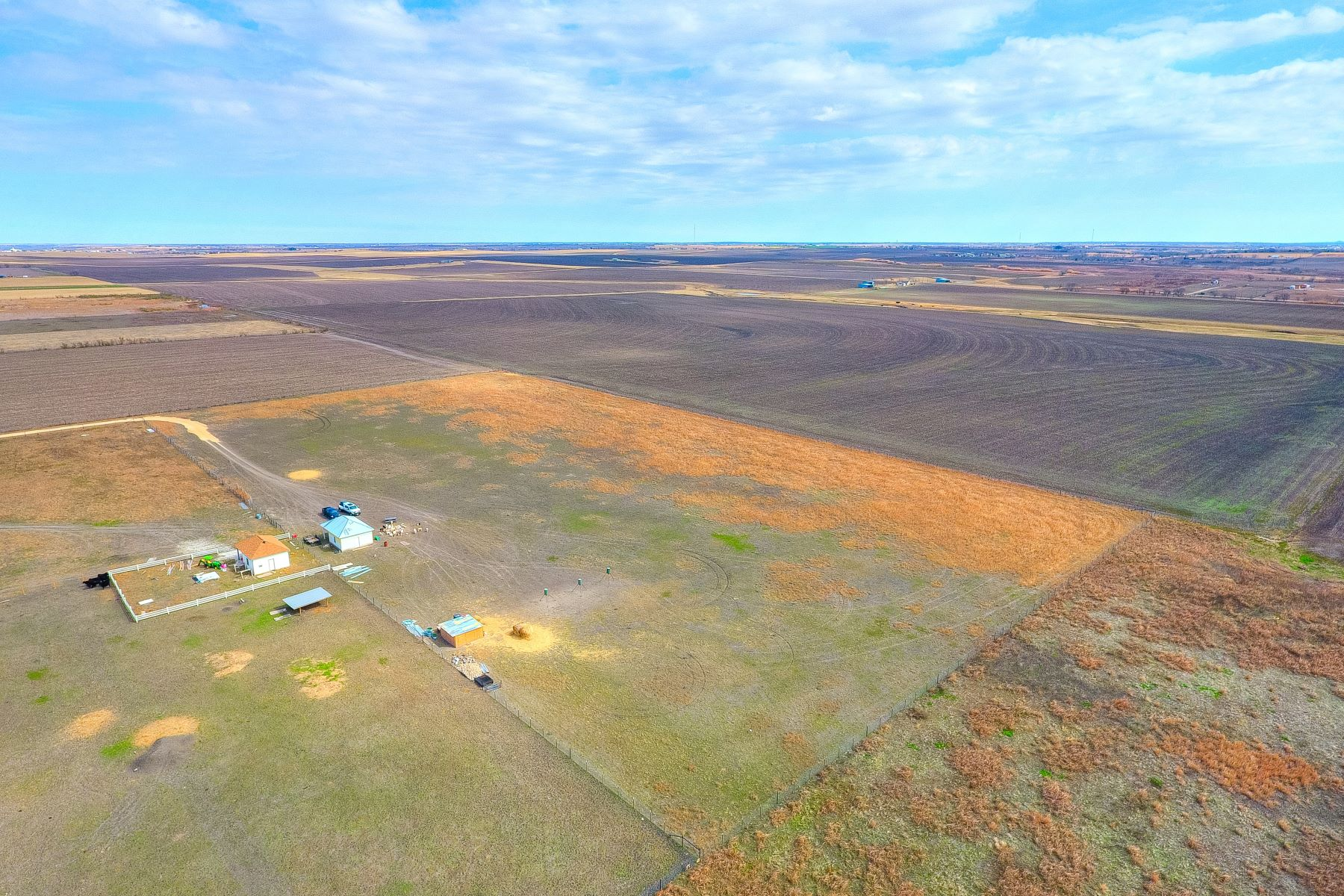 Land for Sale at Fully Fenced Land with Ag Exemption in Coupland 17903 Werchan Lane Coupland, Texas 78615 United States