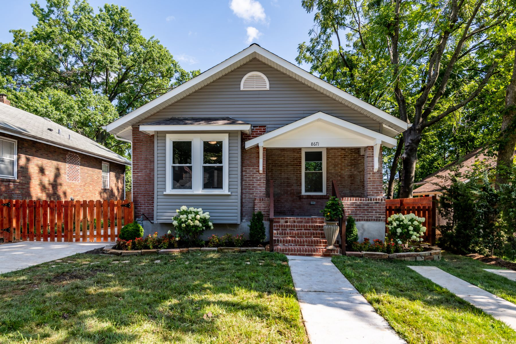 Property for Sale at Renovated Bungalow on Olden Avenue 8671 Olden Avenue St. Louis, Missouri 63114 United States
