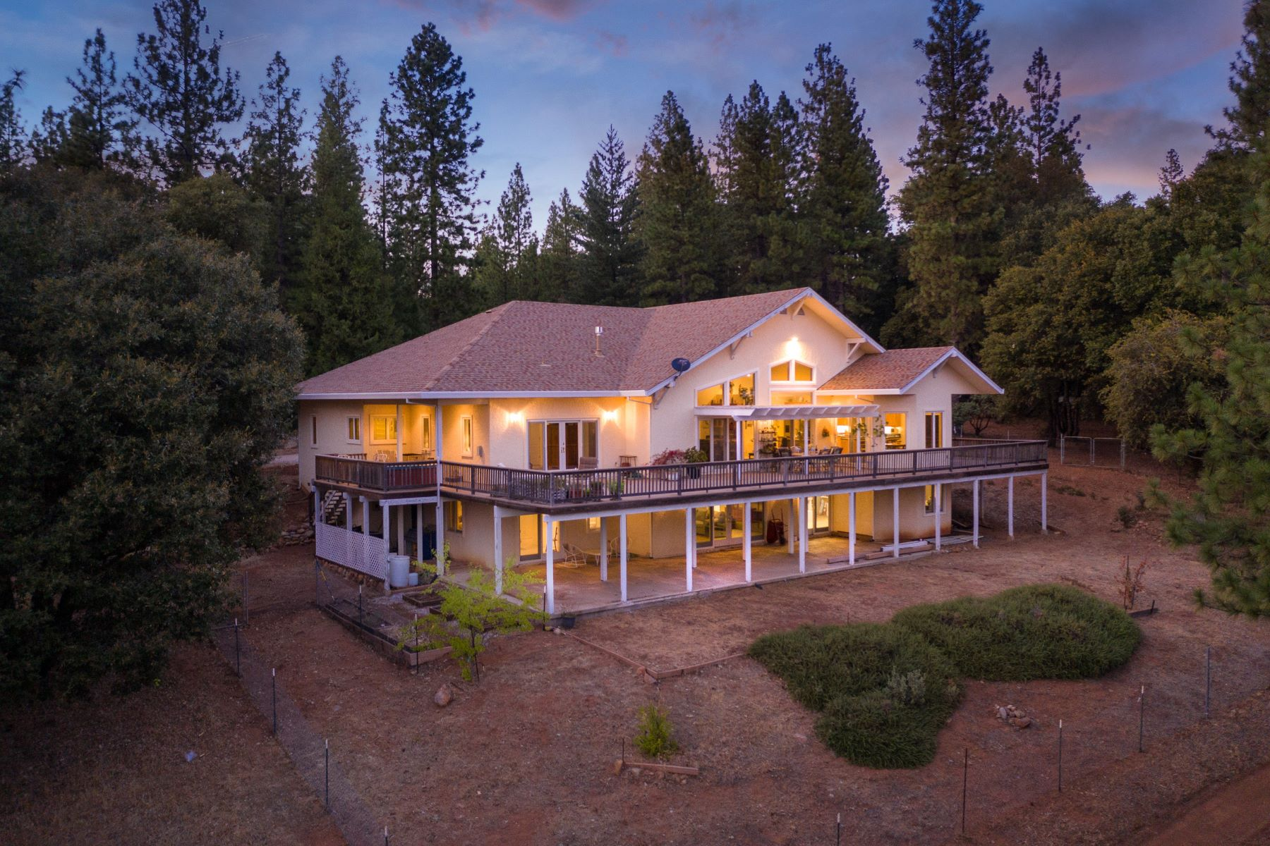 Single Family Homes for Sale at Custom Built Home Boasting Over 5,000 sq ft and 30+ Acres 24200 Golden Ridge Drive Volcano, California 95689 United States