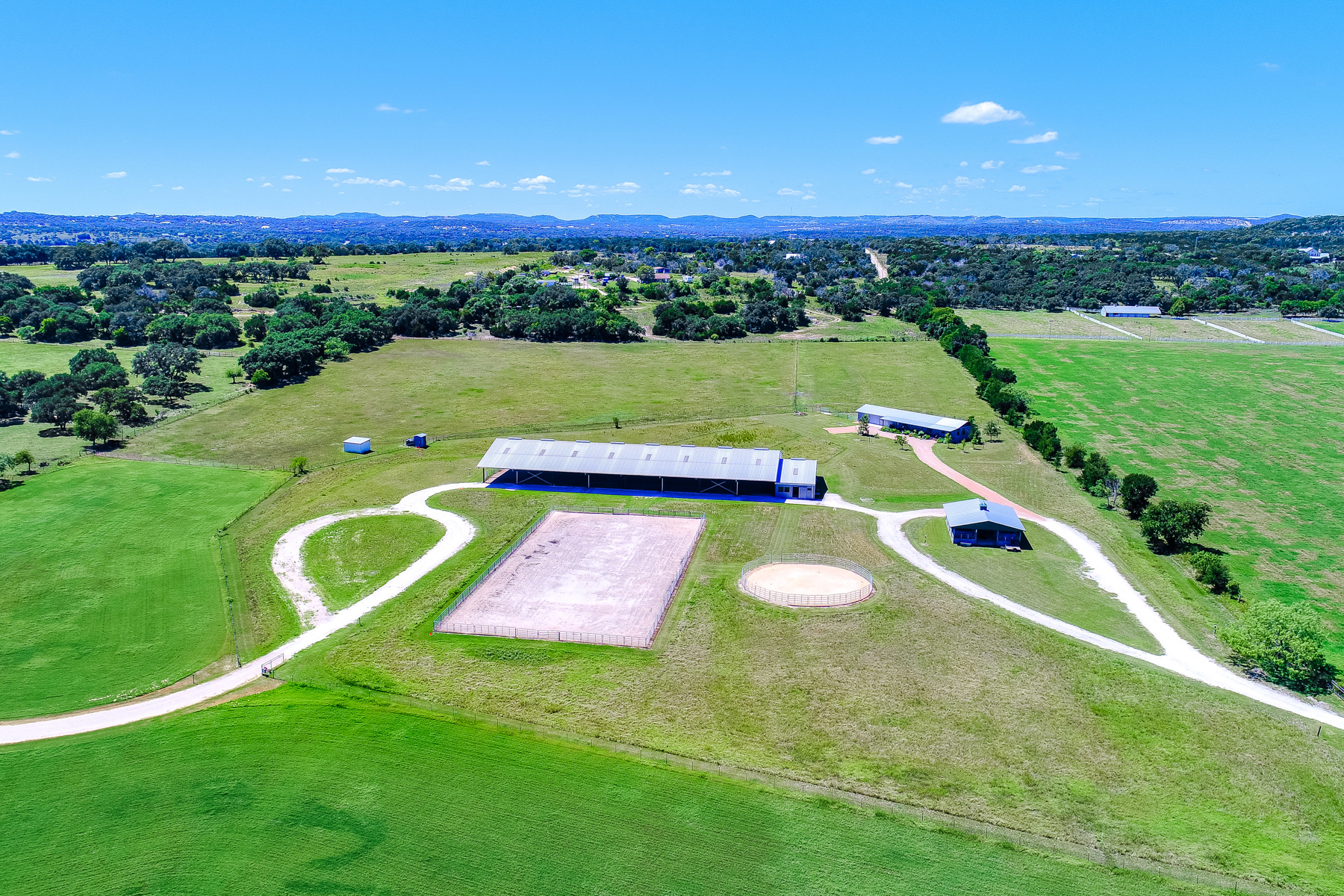 Farm / Ranch / Plantation for Sale at 44 Acre Equestrian Ranch in Waring 30 Bennitt Rd Boerne, Texas 78006 United States