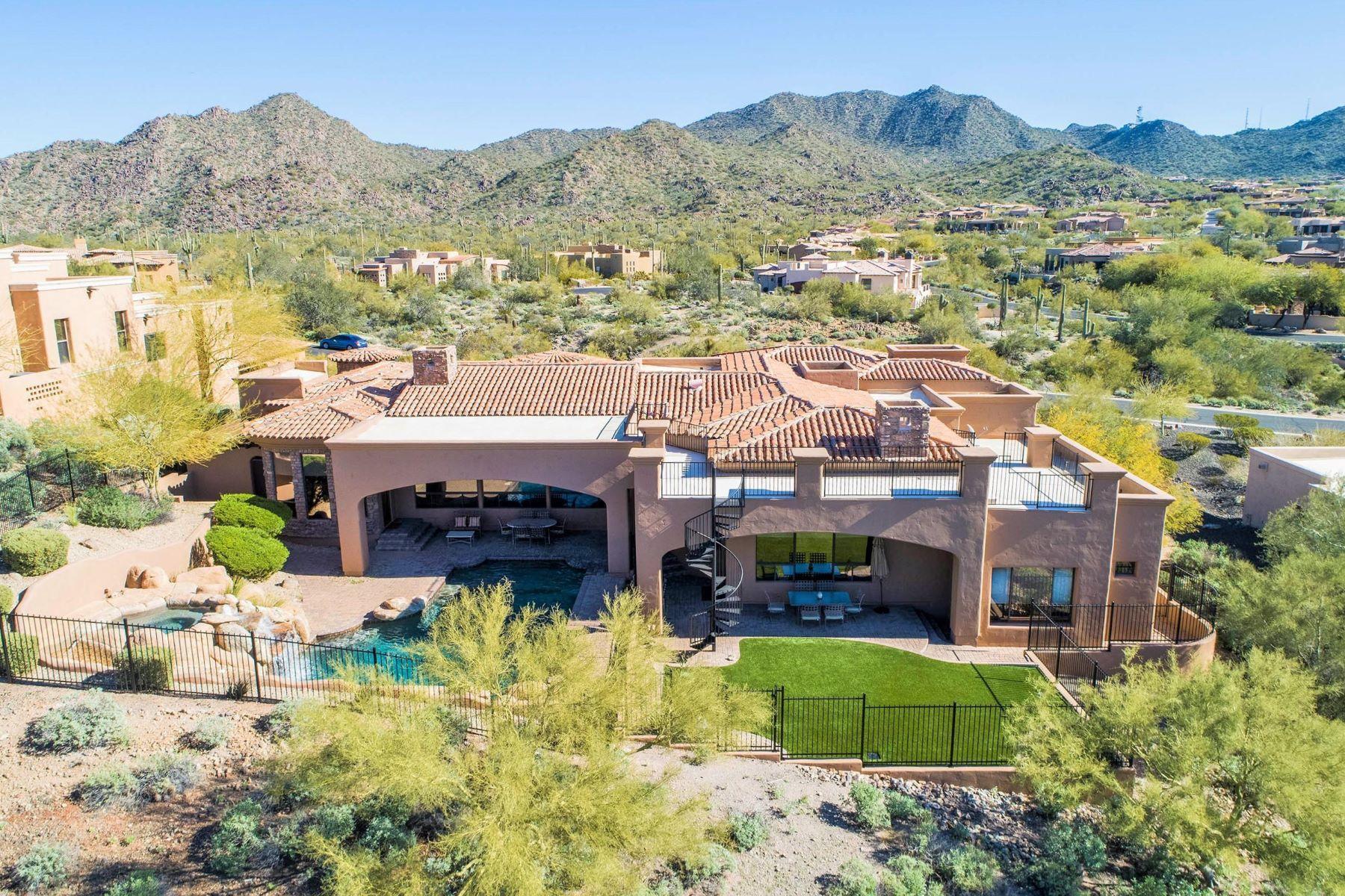 Single Family Homes για την Πώληση στο Spectacular Views! 4318 N DESERT OASIS CIR, Mesa, Αριζονα 85207 Ηνωμένες Πολιτείες