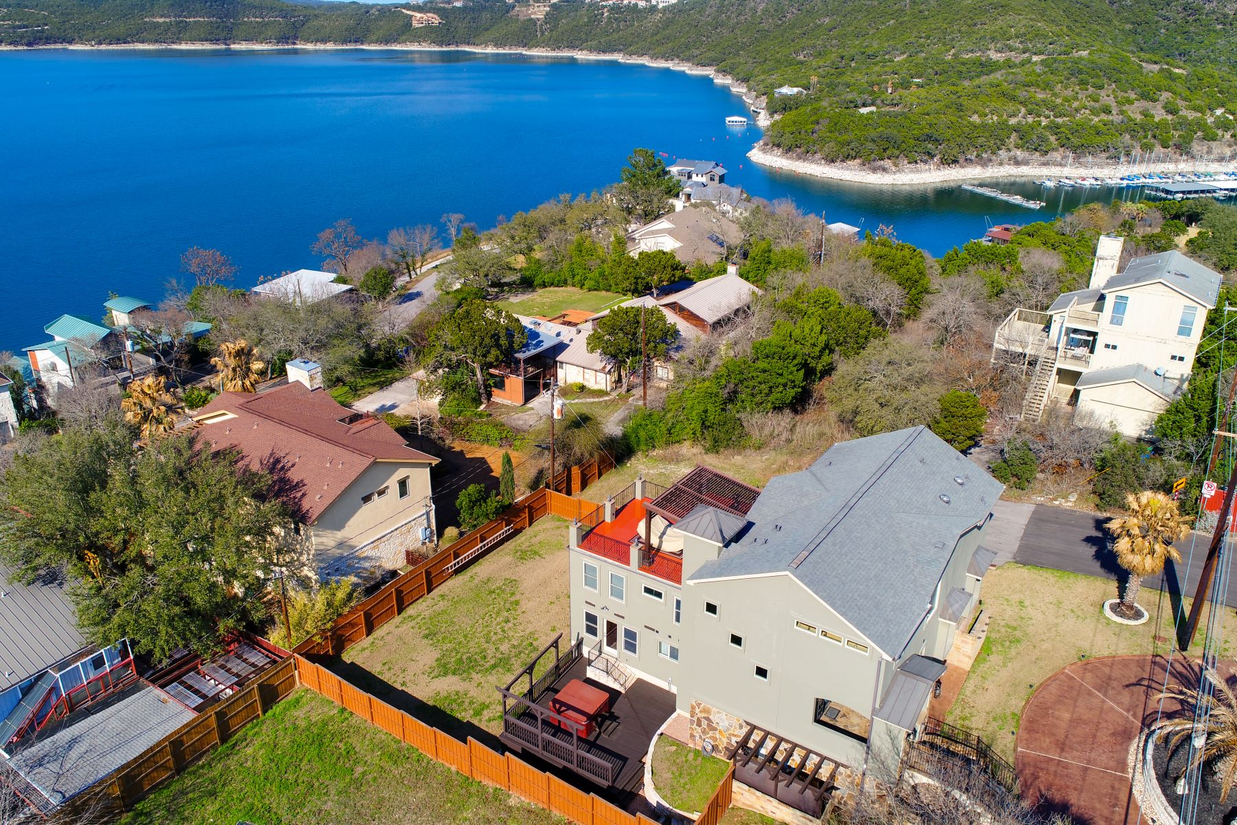 Single Family Home for Sale at Beautiful Lake Travis Home with Incredible Views 12800 Thomas Street Austin, Texas 78732 United States
