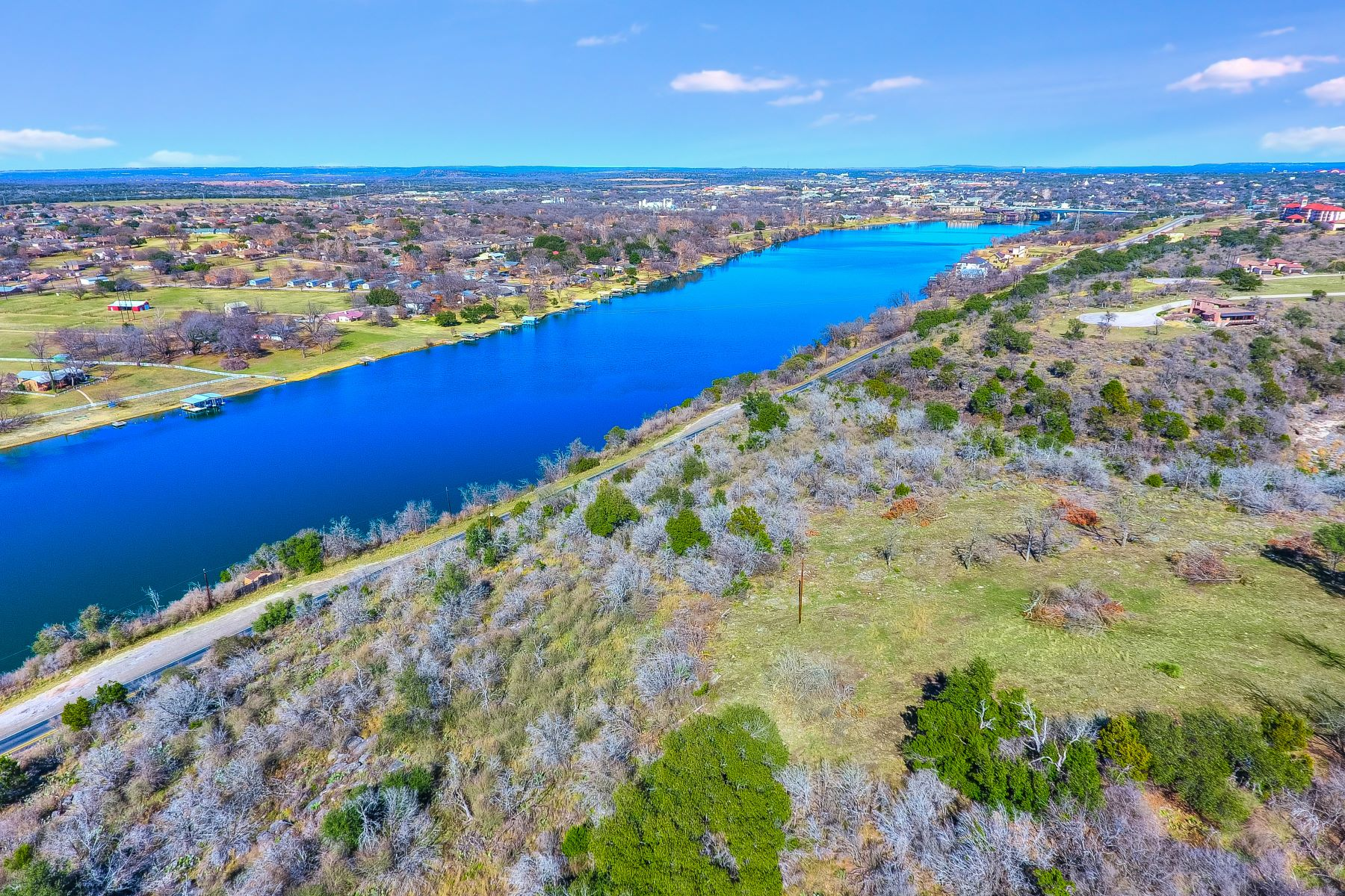 Land for Active at Waterfront Lot on Lake Marble Falls 00 FM 2147 on Lake Marble Falls Marble Falls, Texas 78654 United States