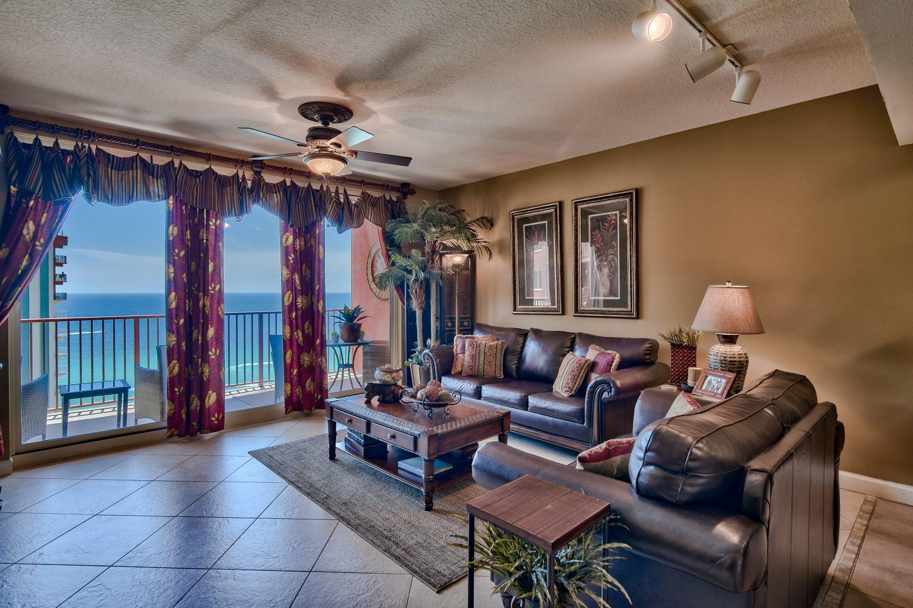 Condominiums for Active at Turn-key Gulf-front Condo at Shores of Panama 9900 South Thomas Drive 2115 Panama City Beach, Florida 32408 United States