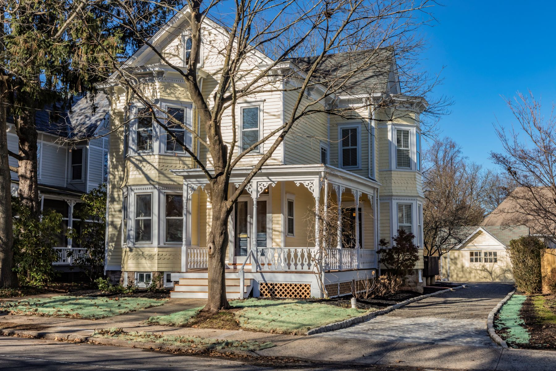 Single Family Homes for Sale at Historic Charm Restored With Every Modern Amenity 25 East Delaware Avenue, Pennington, New Jersey 08534 United States