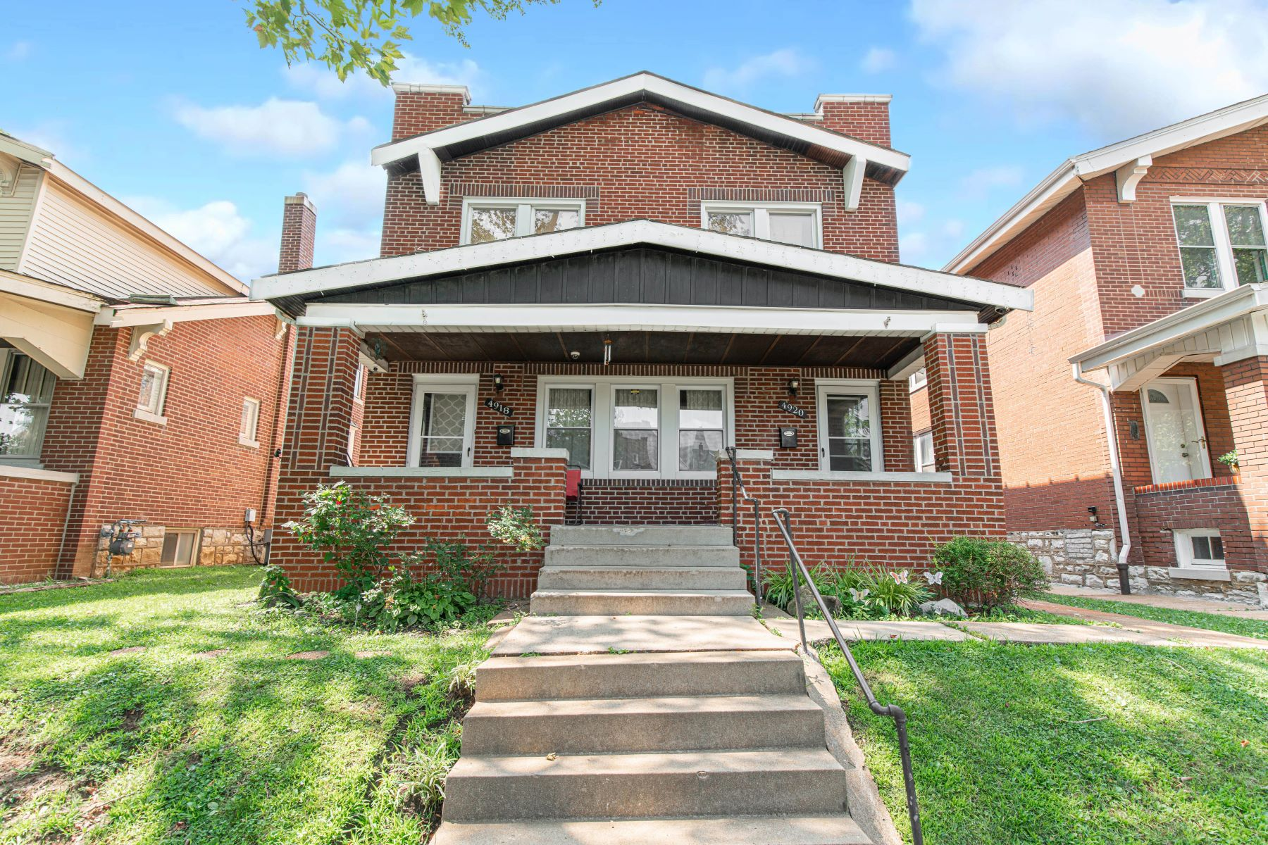 Duplex Homes for Sale at Desirable Two Family in Princeton Heights 4918 Holly Hills Avenue St. Louis, Missouri 63109 United States