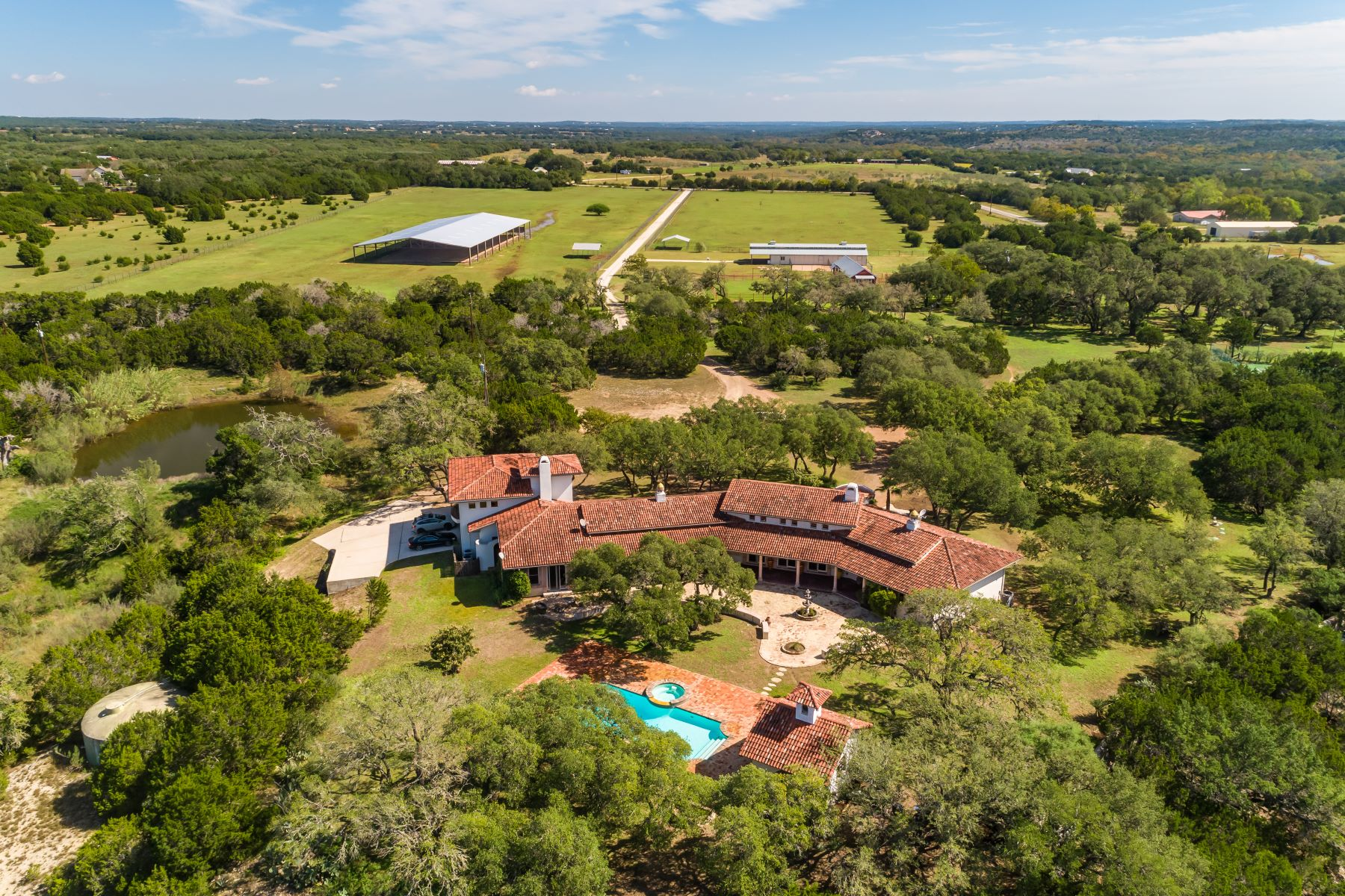 Farm / Ranch / Plantation for Sale at Luxurious Old World Equestrian Estate 2701 McGregor Lane Dripping Springs, Texas 78620 United States