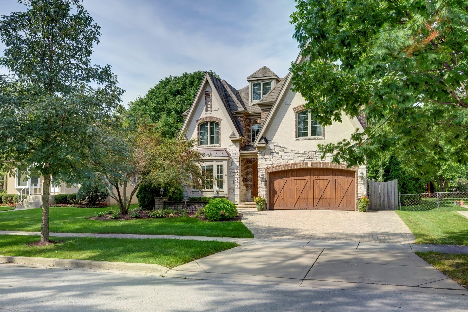 Single Family Homes 용 매매 에 Stunning Elmhurst Home 640 S Washington Street, Elmhurst, 일리노이즈 60126 미국