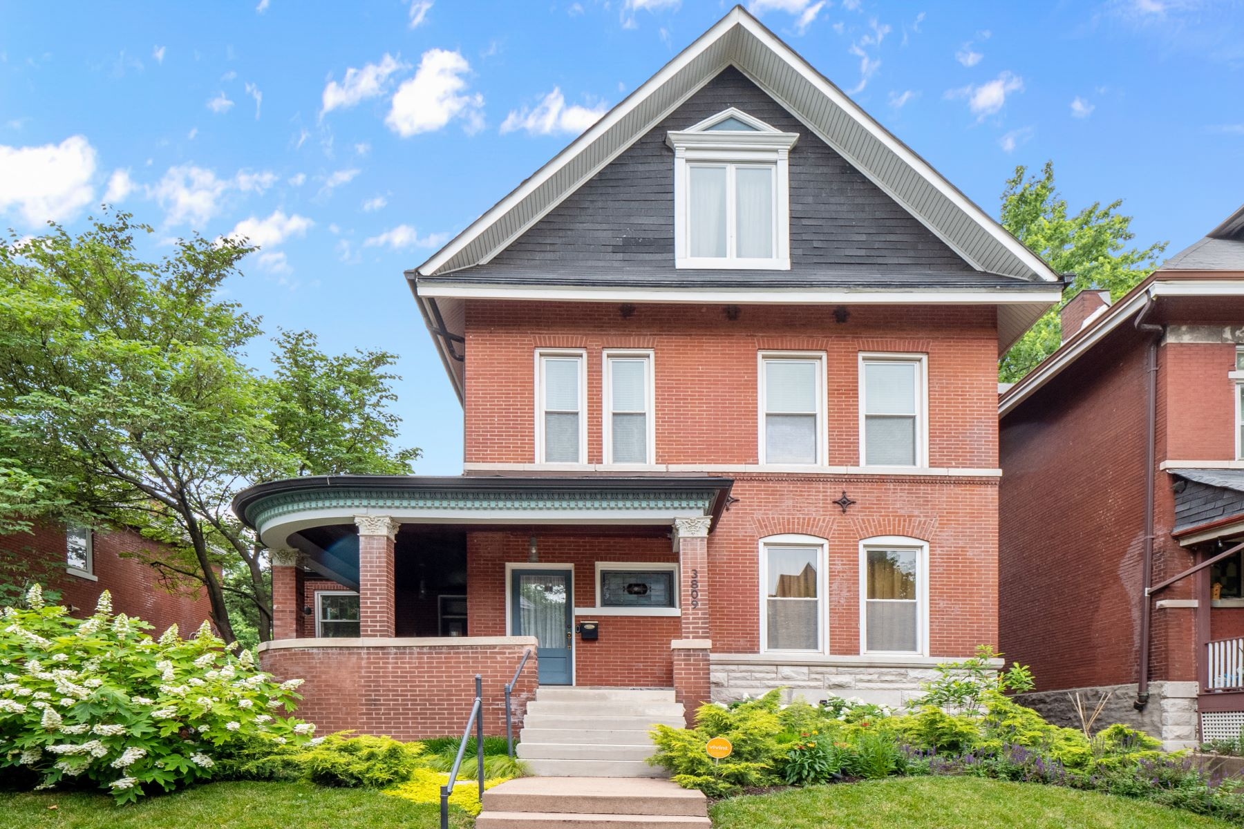 Single Family Homes for Sale at Incredible Shaw Neighborhood Home! 3809 Cleveland Avenue St. Louis, Missouri 63110 United States