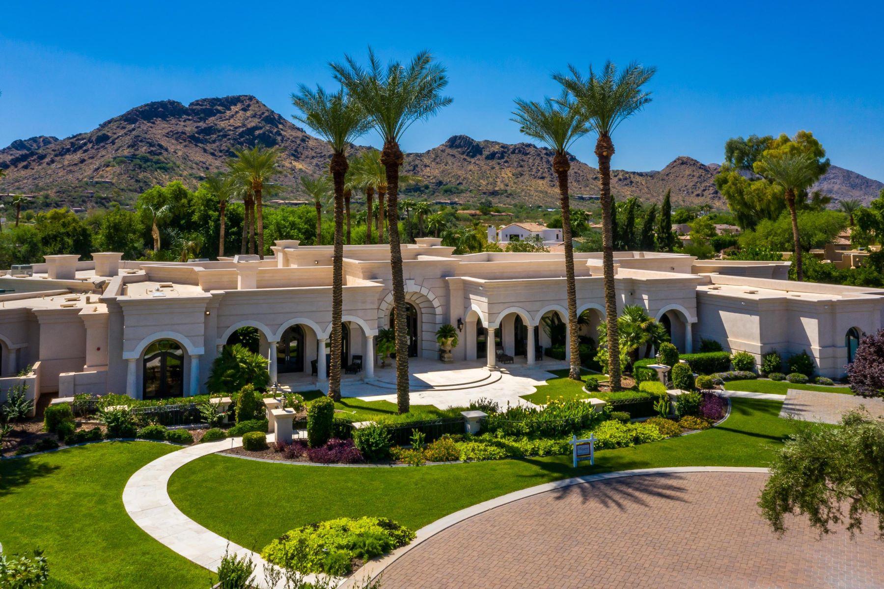 Single Family Homes por un Venta en Villaresi 6347 E ROYAL PALM RD Paradise Valley, Arizona 85253 Estados Unidos