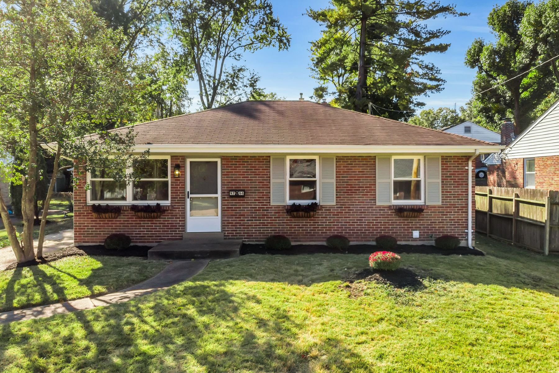 Single Family Homes for Sale at Bright and Modern Bungalow in Rock Hill 9794 Sherrell Court Rock Hill, Missouri 63119 United States