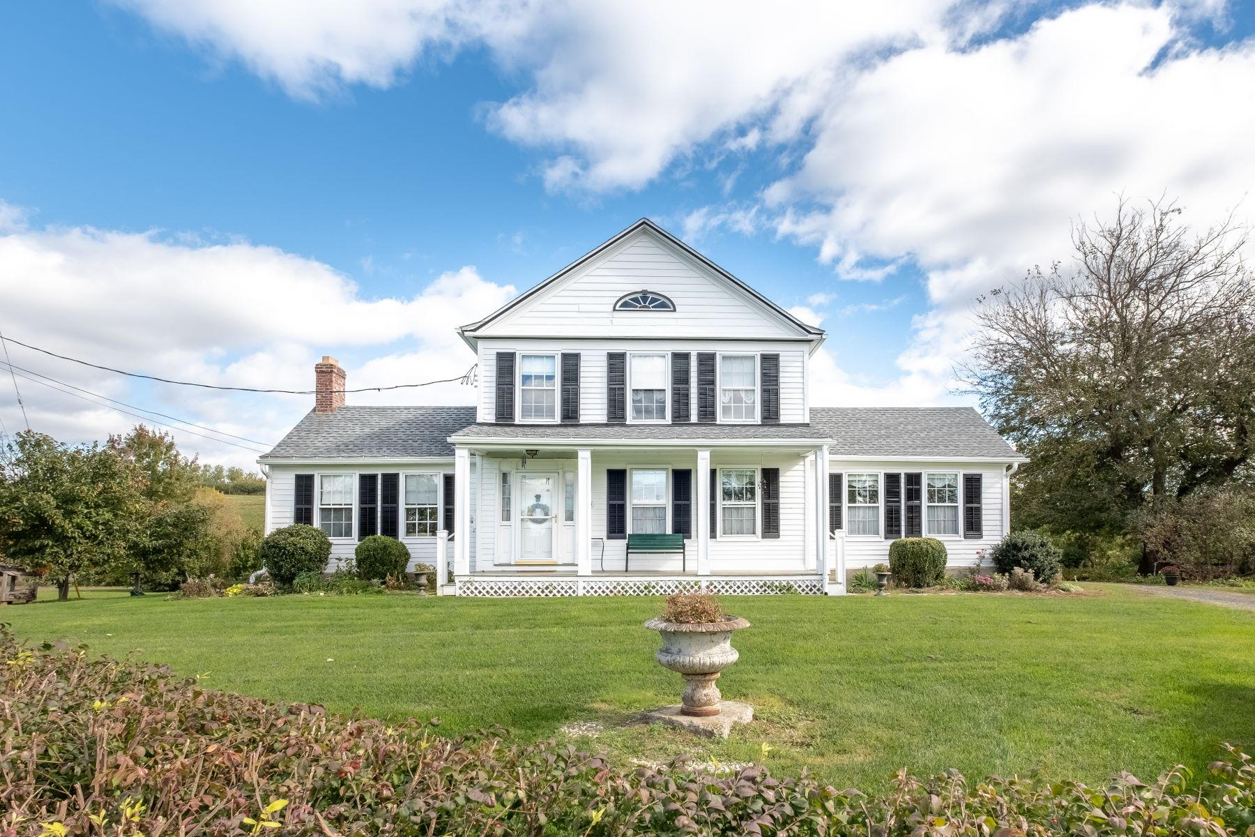 Single Family Homes for Sale at 1840s Farmhouse in the Catskills 340 New York 9H Claverack, New York 12513 United States