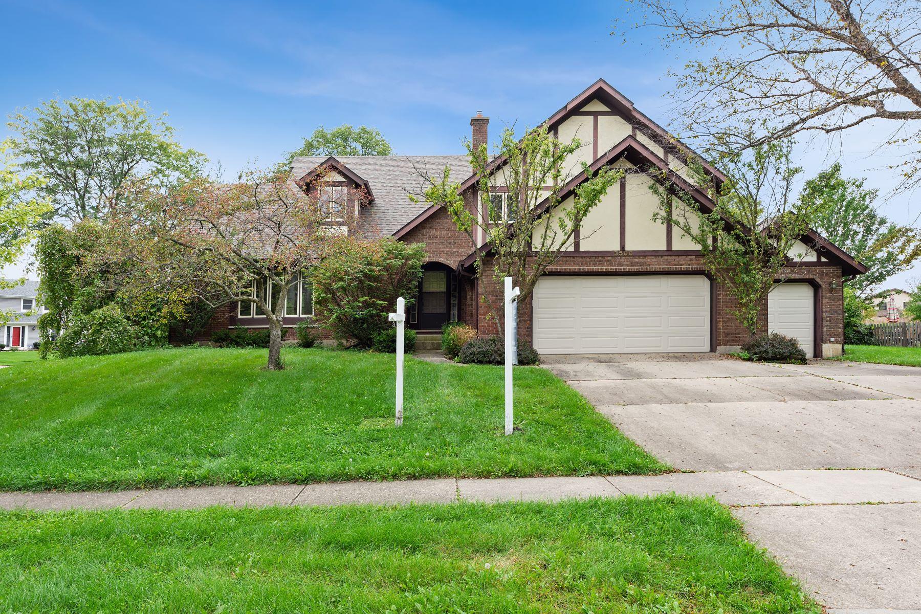 Single Family Homes voor Verkoop op Motivated seller of 2 story home 3500 Wilshire Drive, Hoffman Estates, Illinois 60067 Verenigde Staten