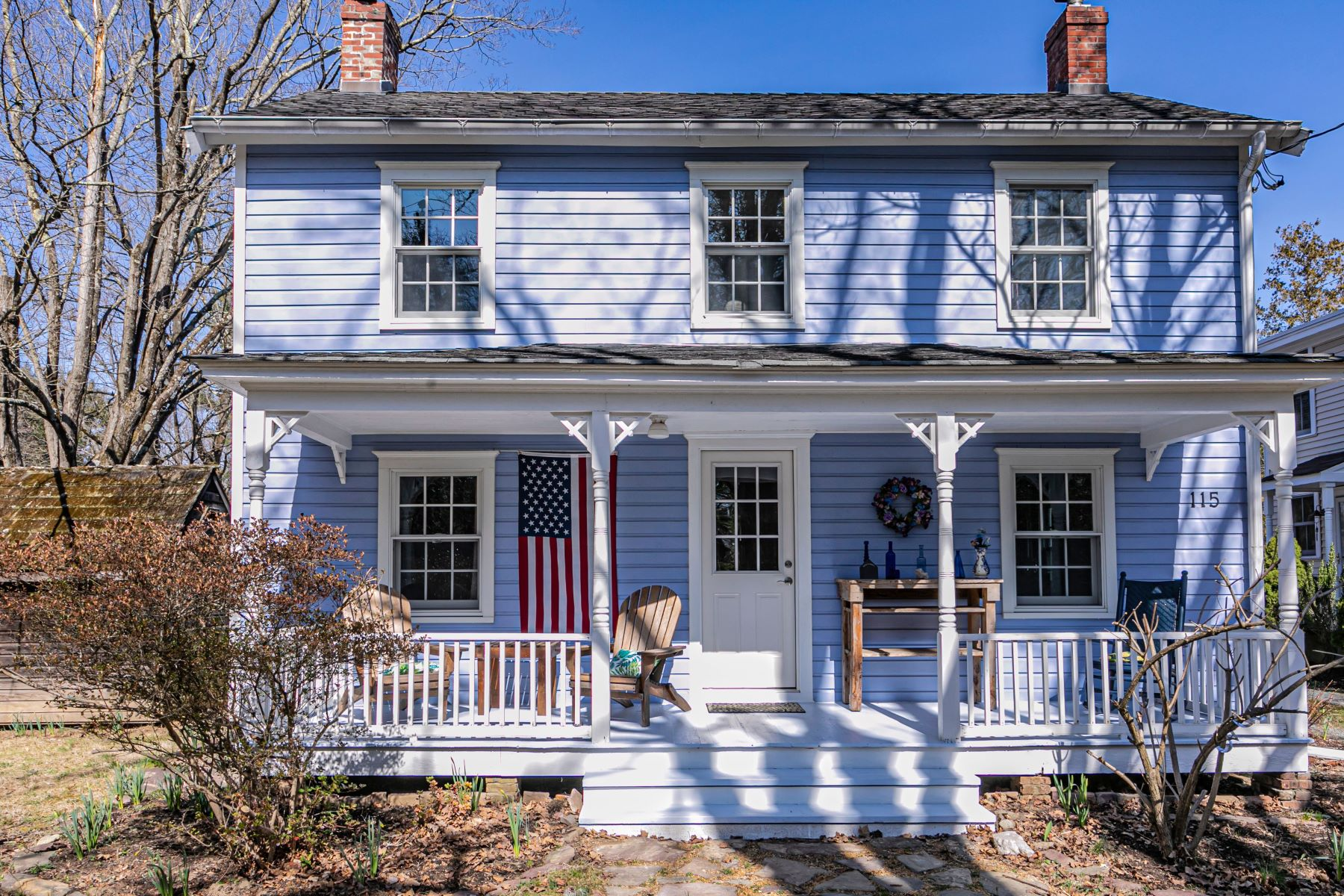 Property のために 売買 アット A True Colonial Home Full of Cheerful Surprises 115 Mountain Avenue, Princeton, ニュージャージー 08540 アメリカ