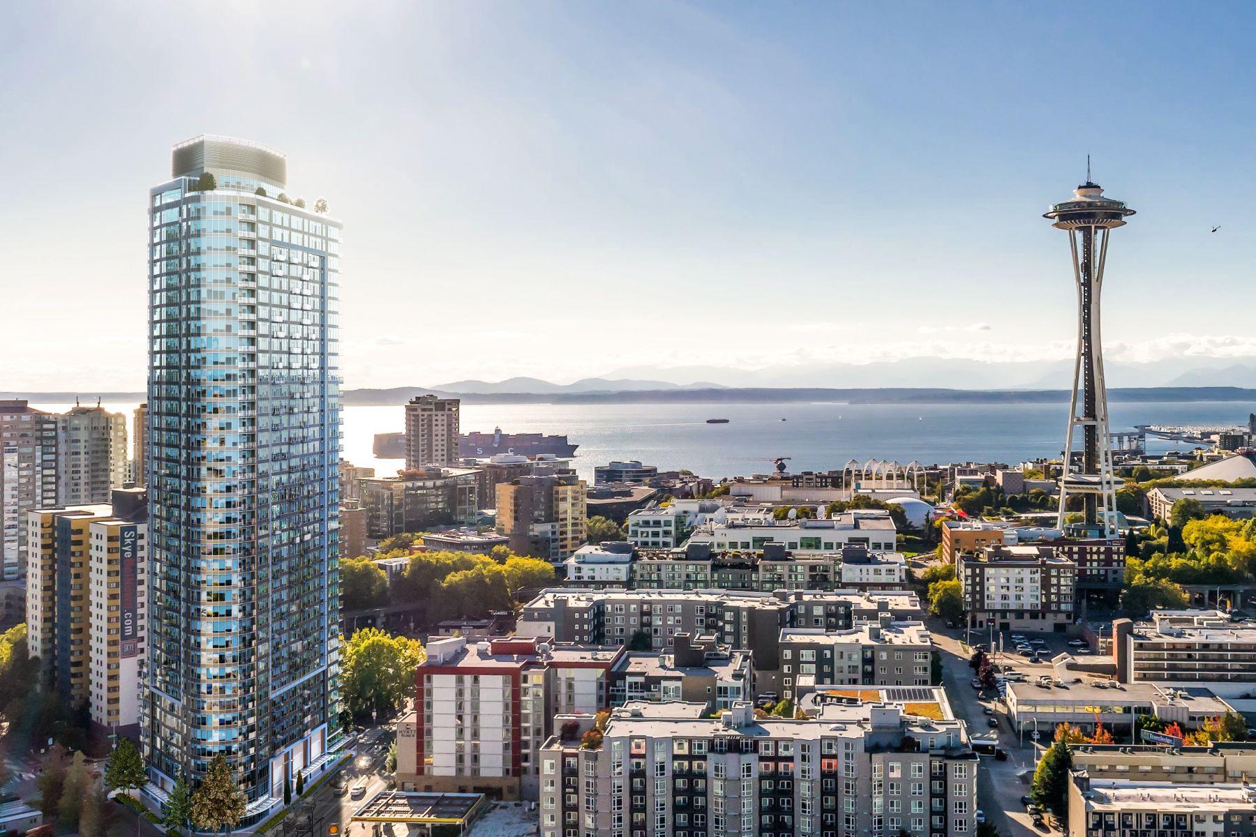 Condominiums por un Venta en 600 Wall Street, Seattle, WA 98109 600 Wall Street #3903 Seattle, Washington 98109 Estados Unidos