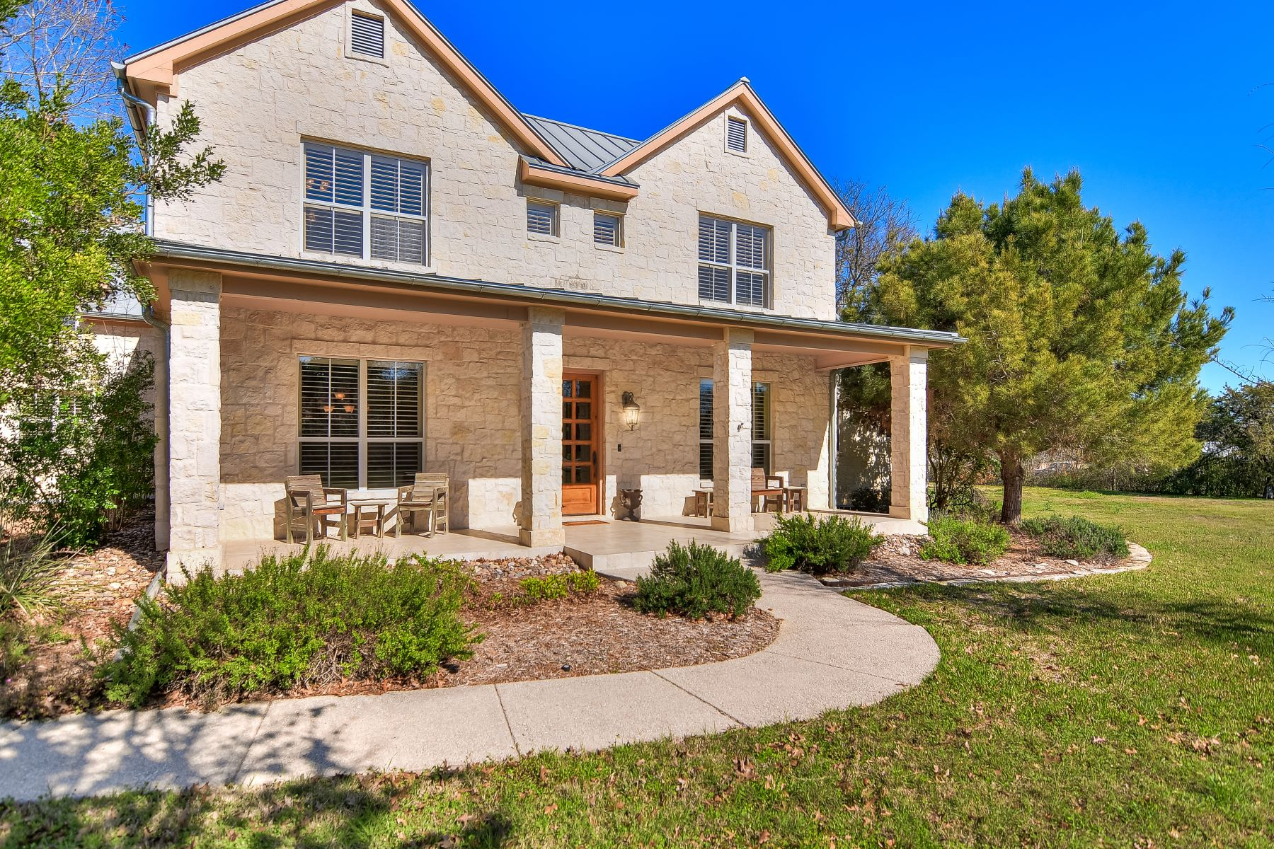 Single Family Homes for Active at Privately Gated Acreage Estate 215 Hill Country Lane Hill Country Village, Texas 78232 United States