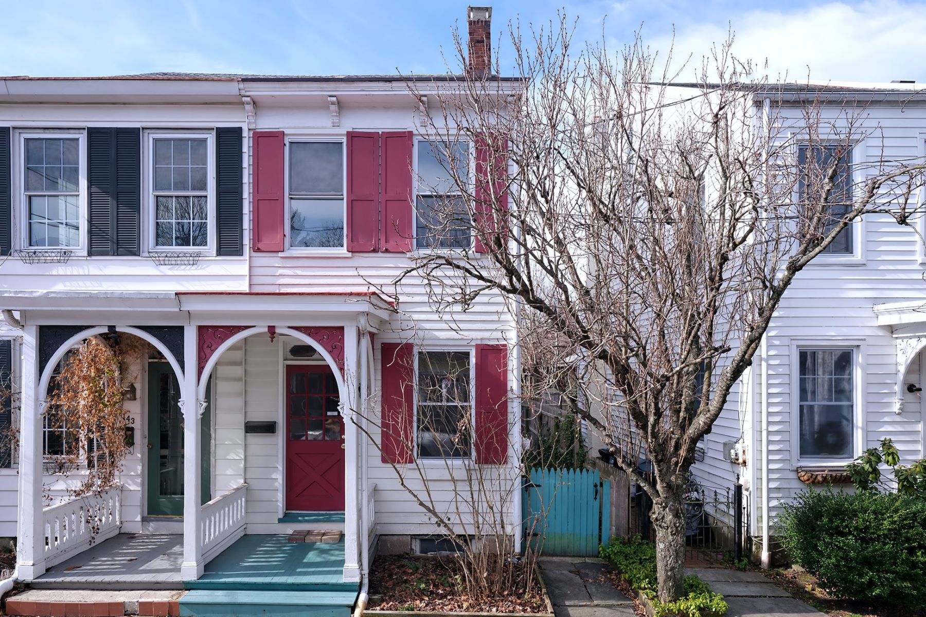 Duplex Homes for Sale at Sweetest Home Awaiting its Next Chapter 145 George Street, Lambertville, New Jersey 08530 United States