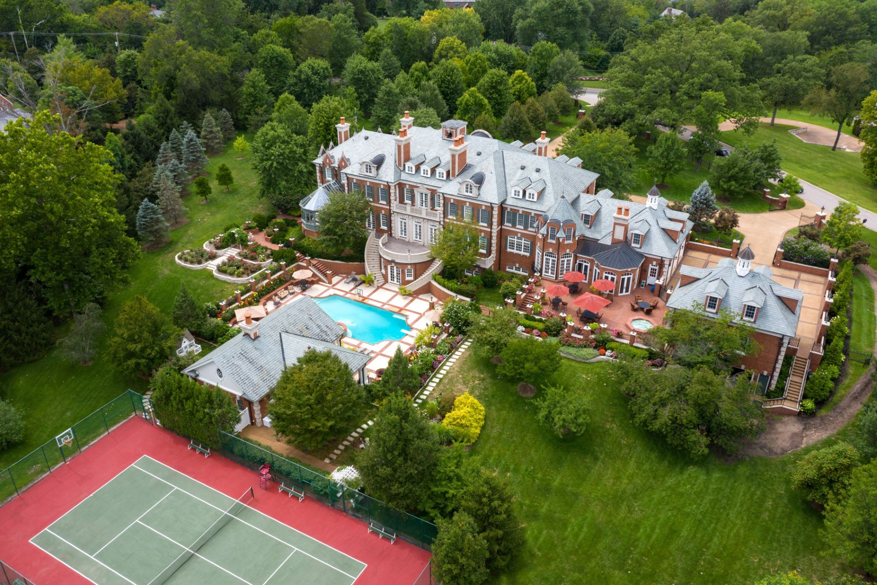 Additional photo for property listing at The Westbury Estate: A Legacy Property in the Heart of Ladue 20 Upper Warson Road Ladue, Missouri 63124 United States