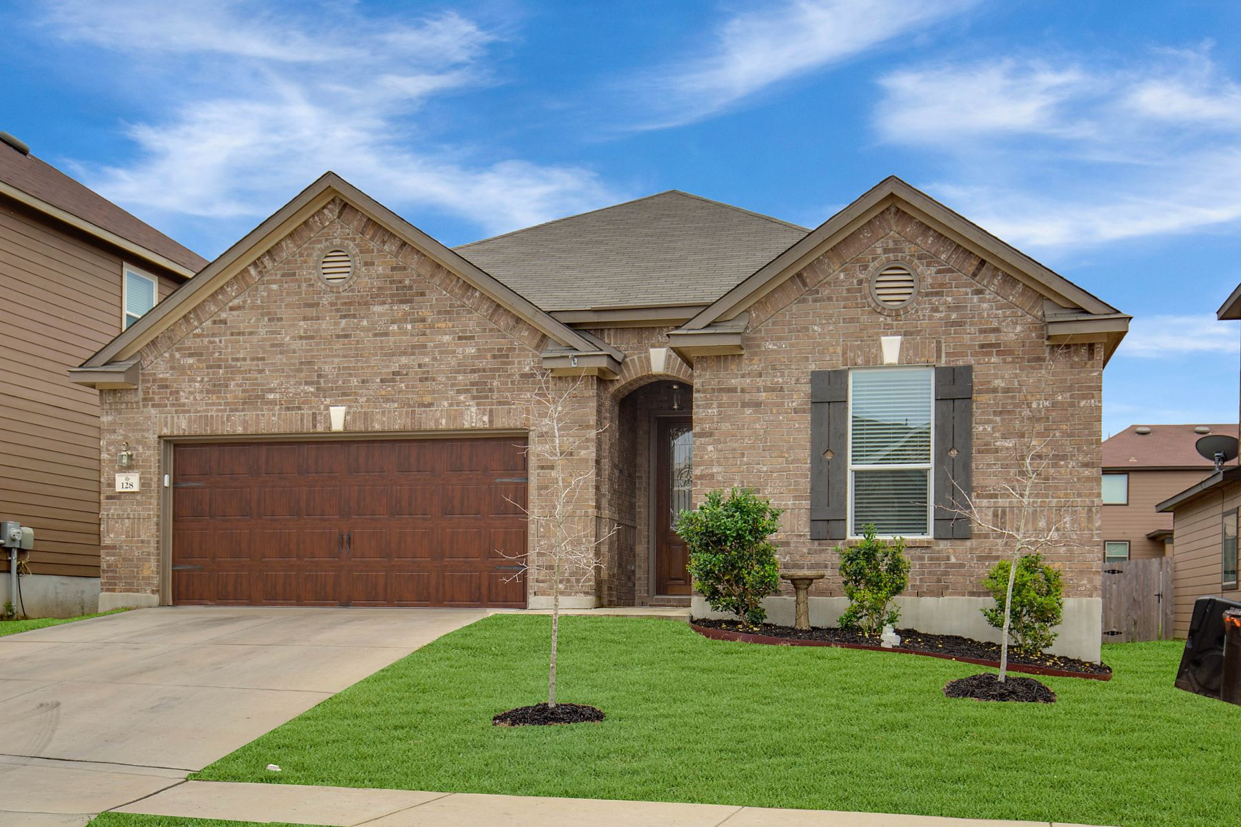 Single Family Home for Sale at Exceptional Single-Story Home 128 Landmark Park, Cibolo, Texas, 78108 United States